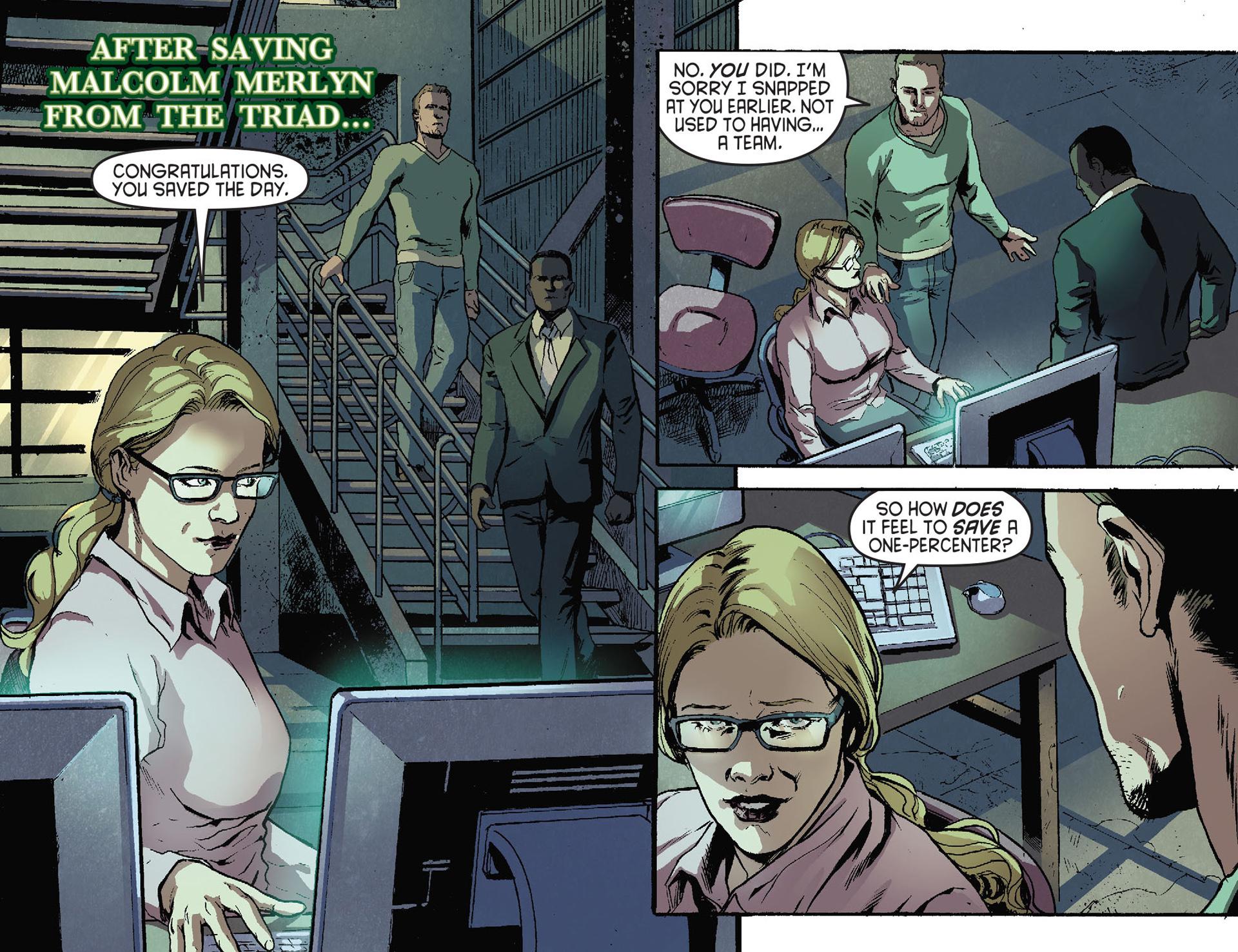 Read online Arrow [II] comic -  Issue #28 - 3