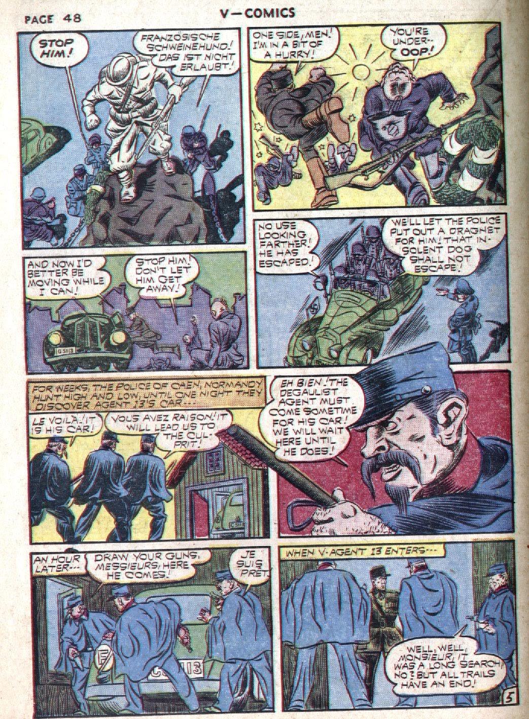 Read online V...- Comics comic -  Issue #1 - 49