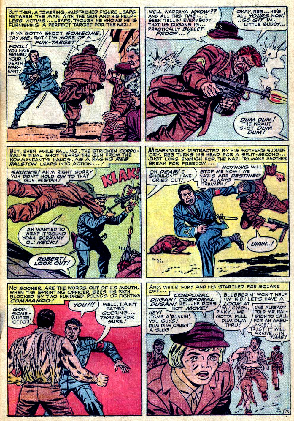 Read online Sgt. Fury comic -  Issue #24 - 25
