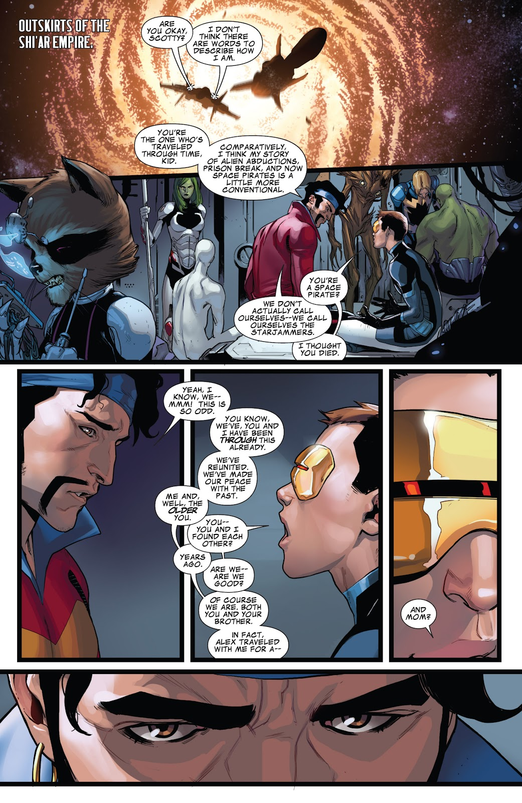 Guardians of the Galaxy/All-New X-Men: The Trial of Jean Grey issue TPB - Page 69