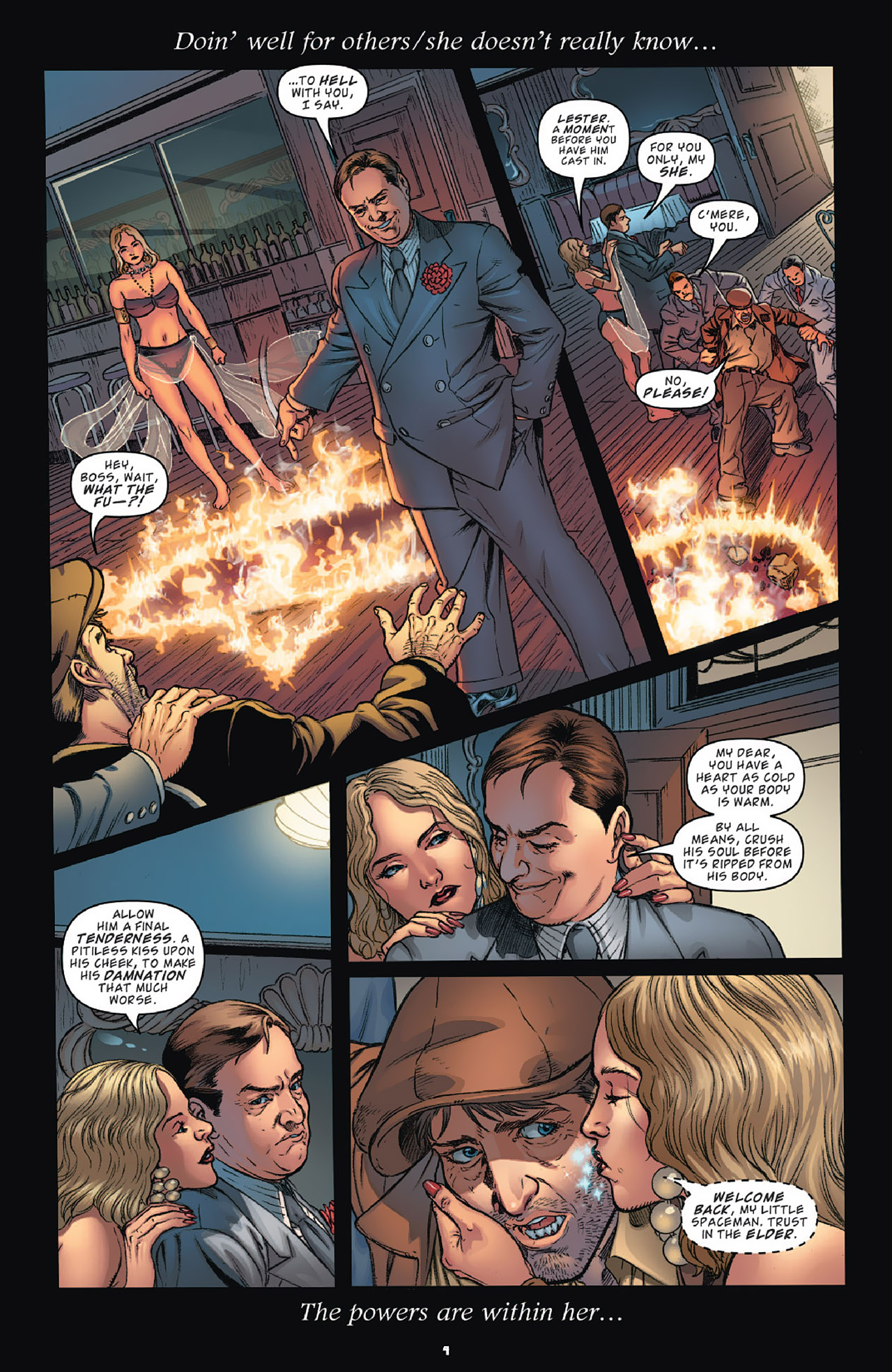 Read online KISS (2012) comic -  Issue #1 - 7