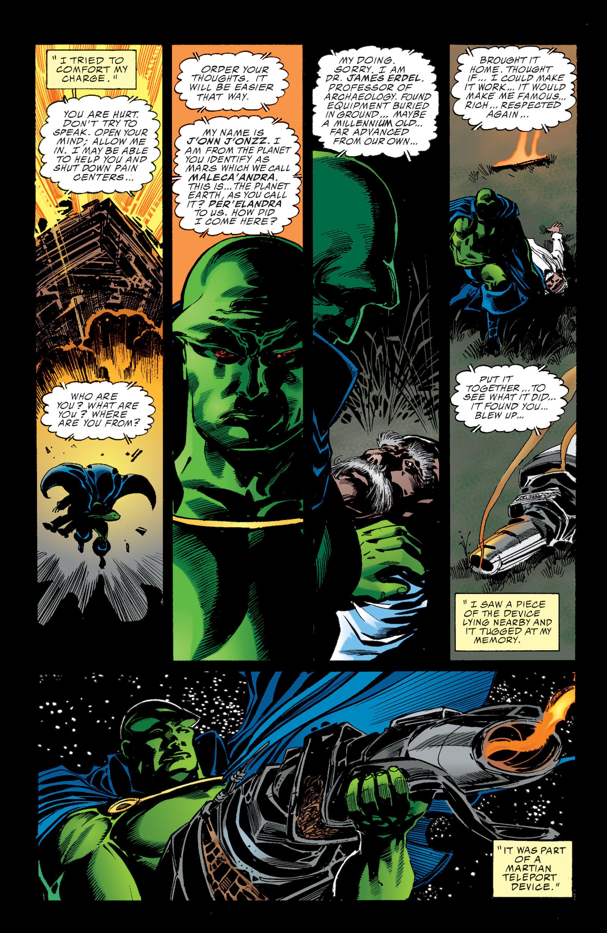 Read online Martian Manhunter: Son of Mars comic -  Issue # TPB - 23