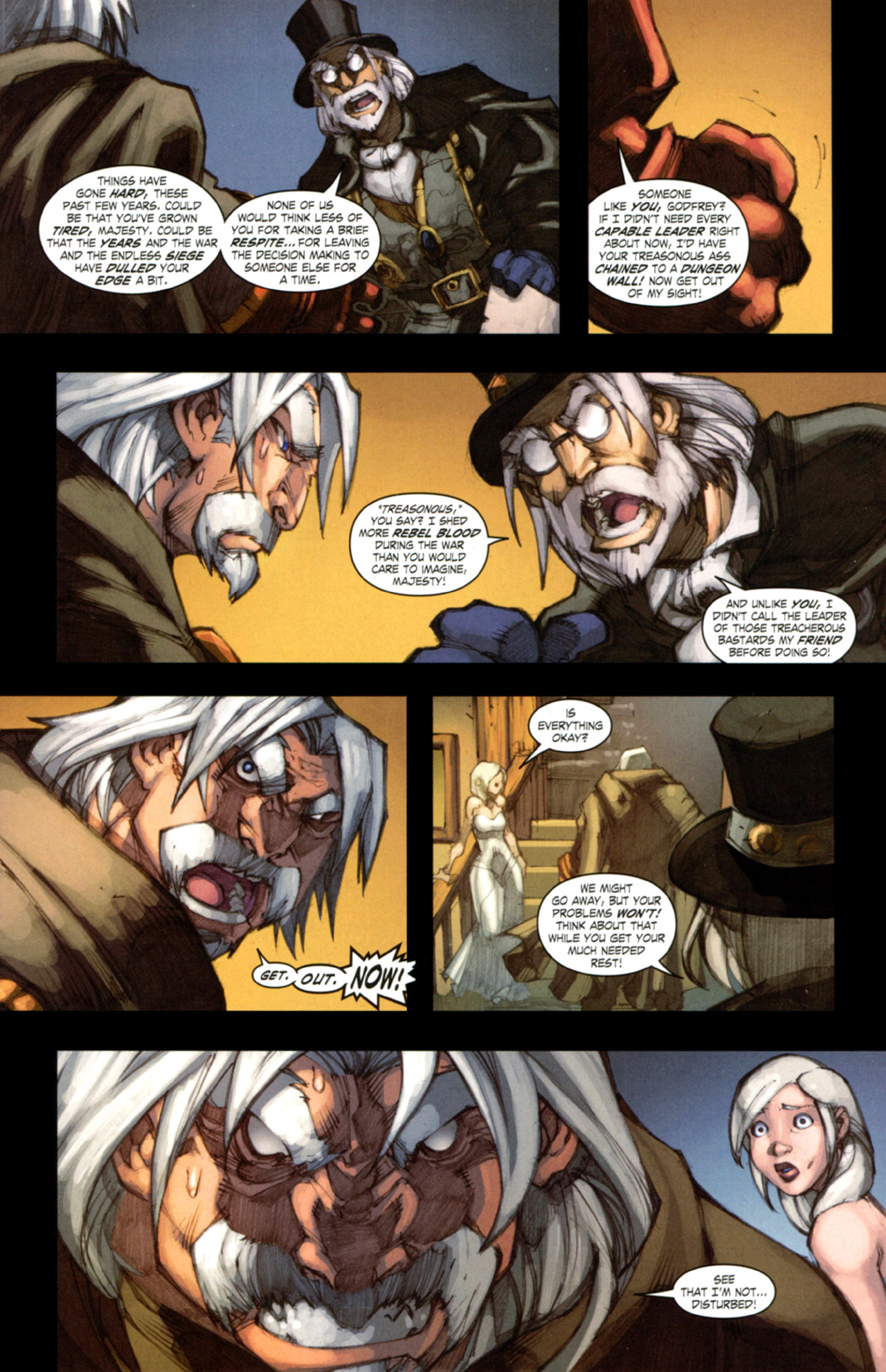 Read online World of Warcraft: Curse of the Worgen comic -  Issue #3 - 16