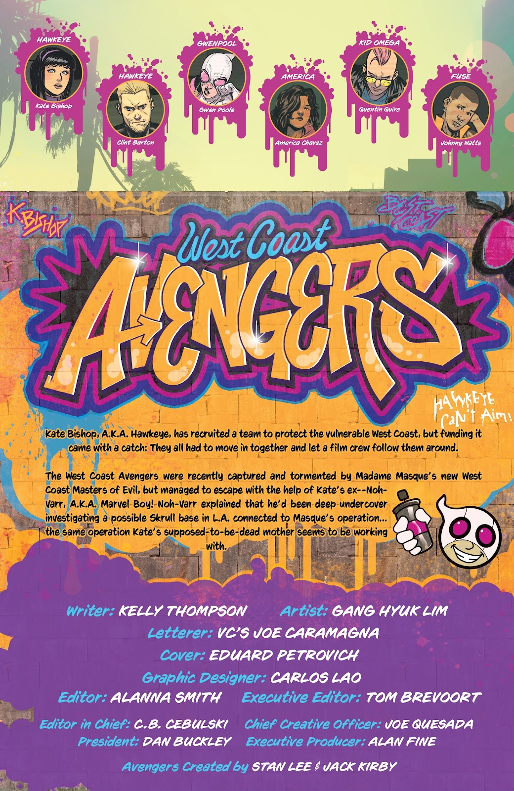Read online West Coast Avengers (2018) comic -  Issue #8 - 2