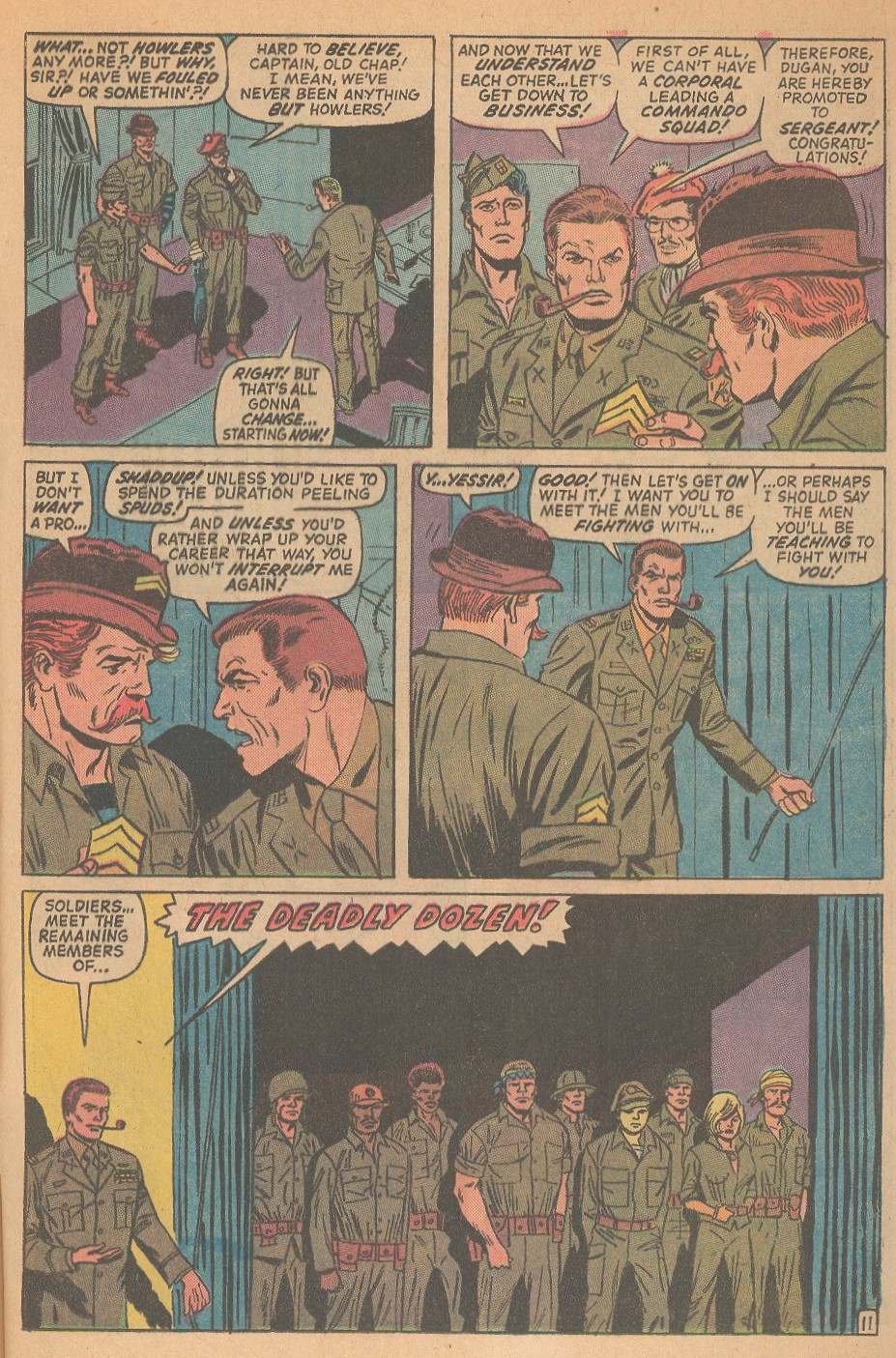 Read online Sgt. Fury comic -  Issue #98 - 17