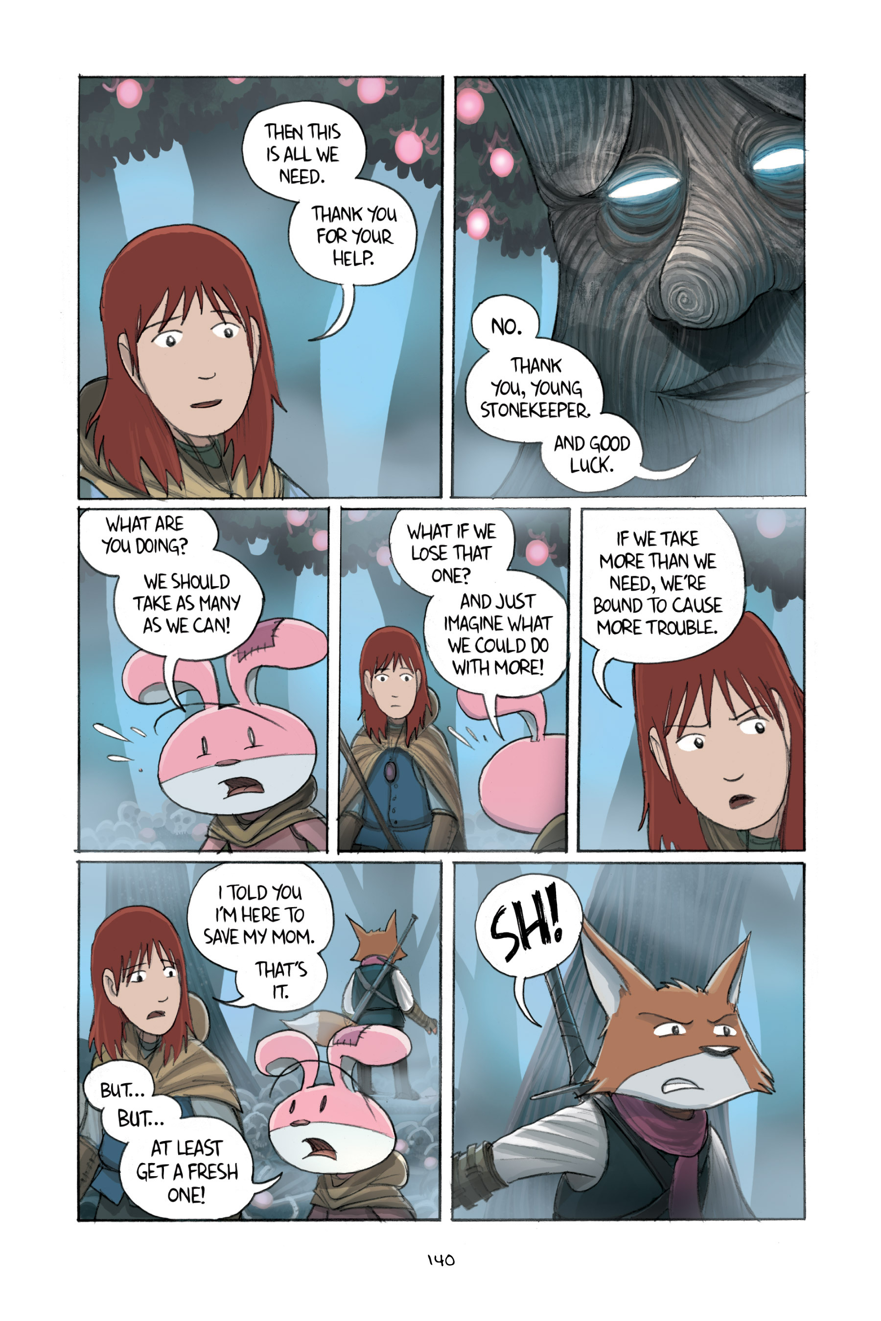 Read online Amulet comic -  Issue #2 - 139