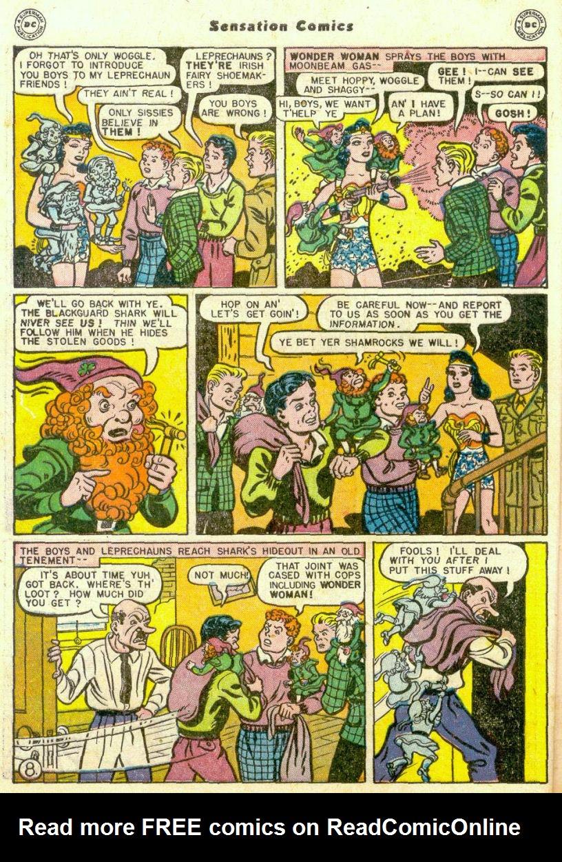 Read online Sensation (Mystery) Comics comic -  Issue #75 - 9