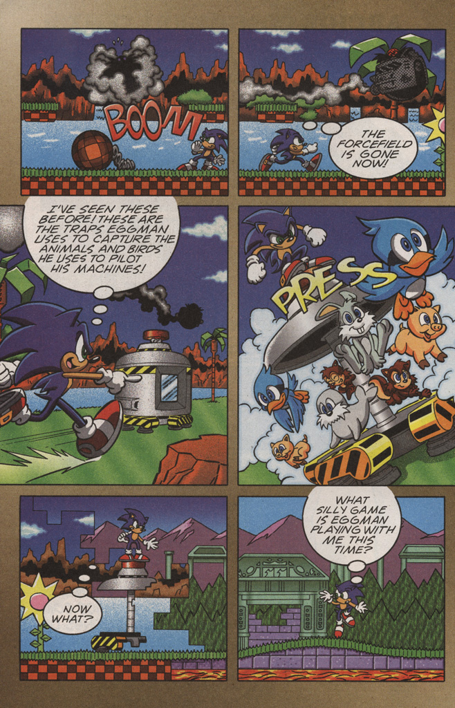 Read online Sonic X comic -  Issue #10 - 22