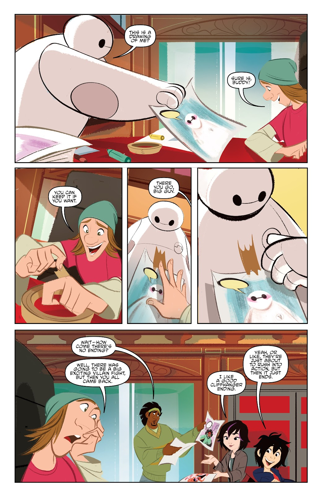 Read online Big Hero 6: The Series comic -  Issue #1 - 17