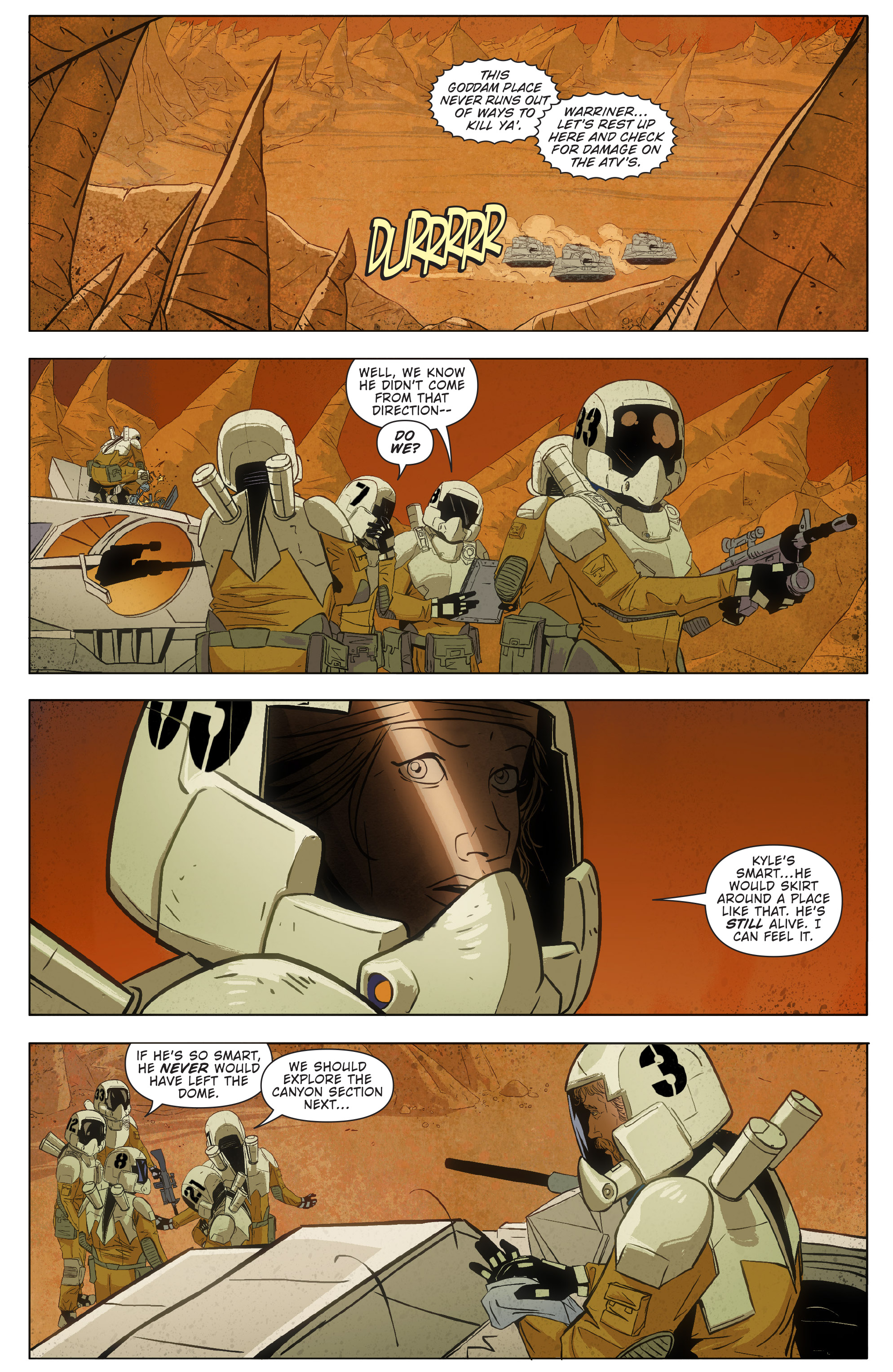 Read online Red Dog comic -  Issue #4 - 33