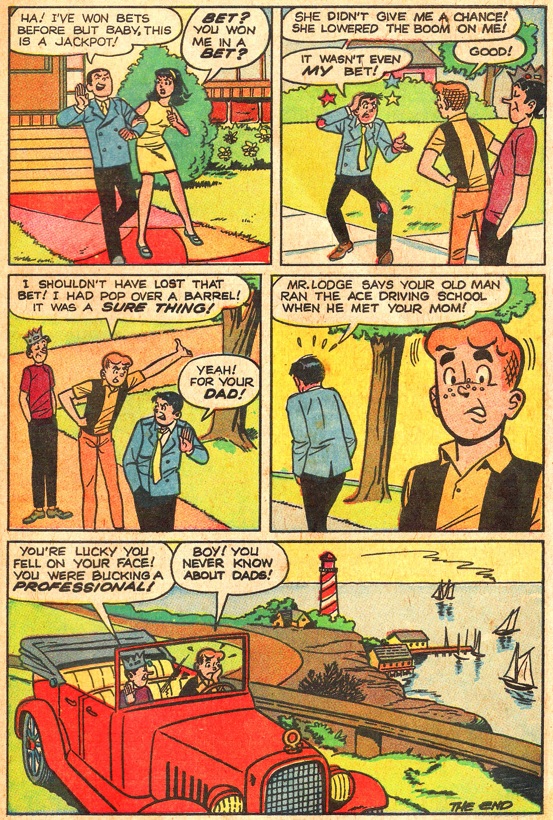 Read online Archie (1960) comic -  Issue #176 - 33