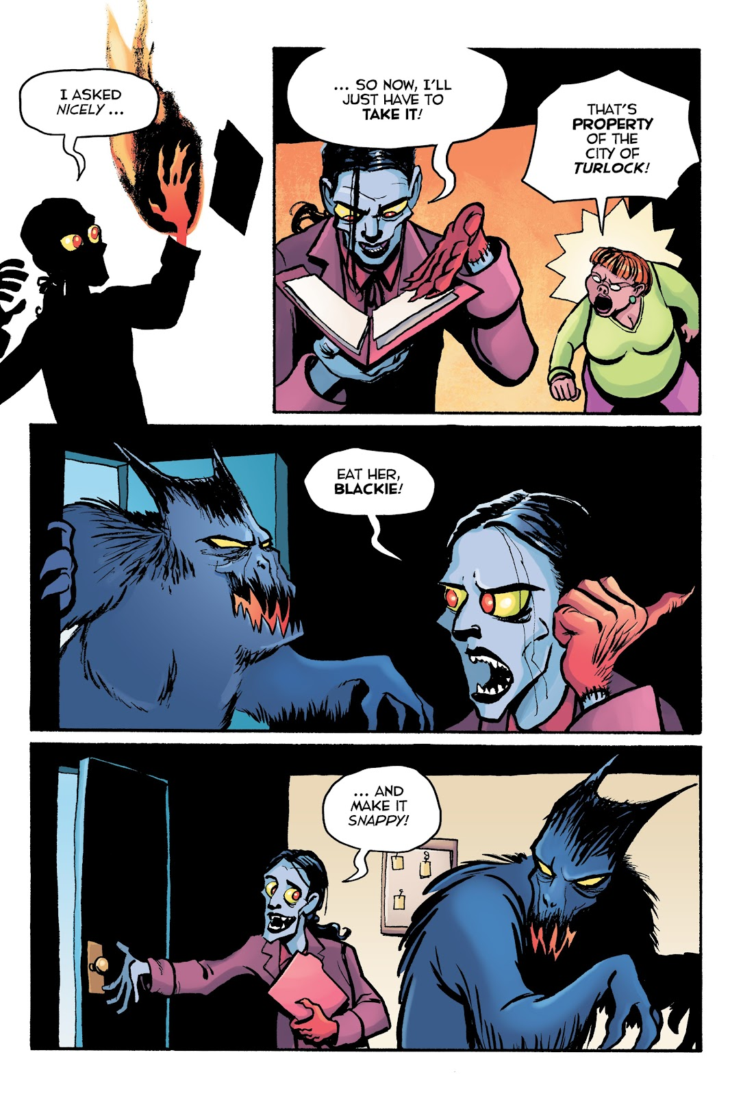 Read online Creature Tech (2019) comic -  Issue # TPB (Part 2) - 13