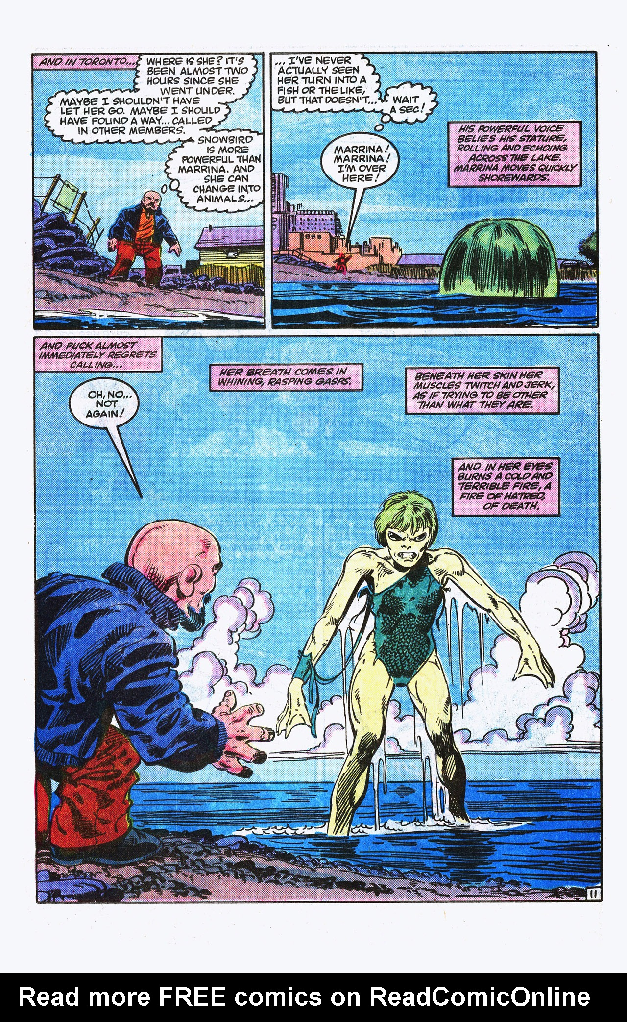 Read online Alpha Flight (1983) comic -  Issue #15 - 12