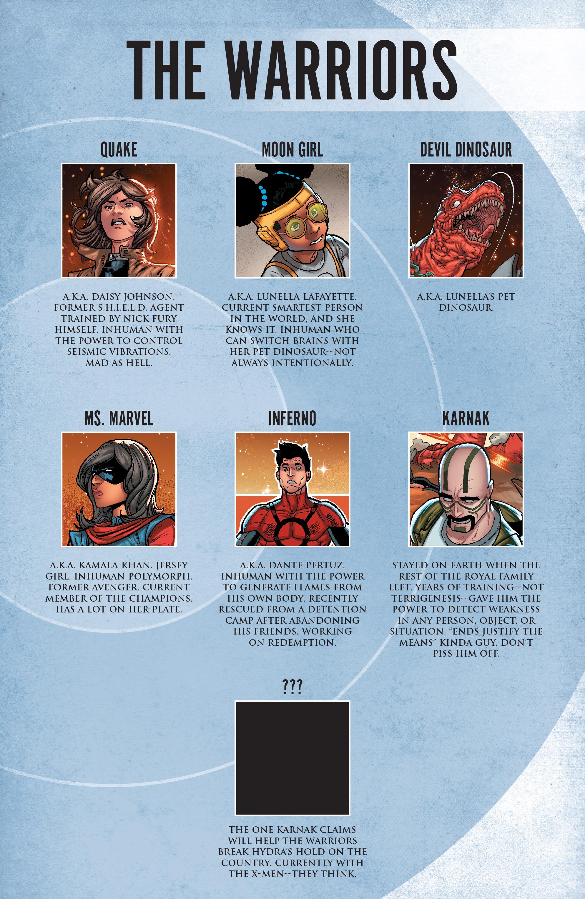 Read online Secret Warriors (2017) comic -  Issue #3 - 4