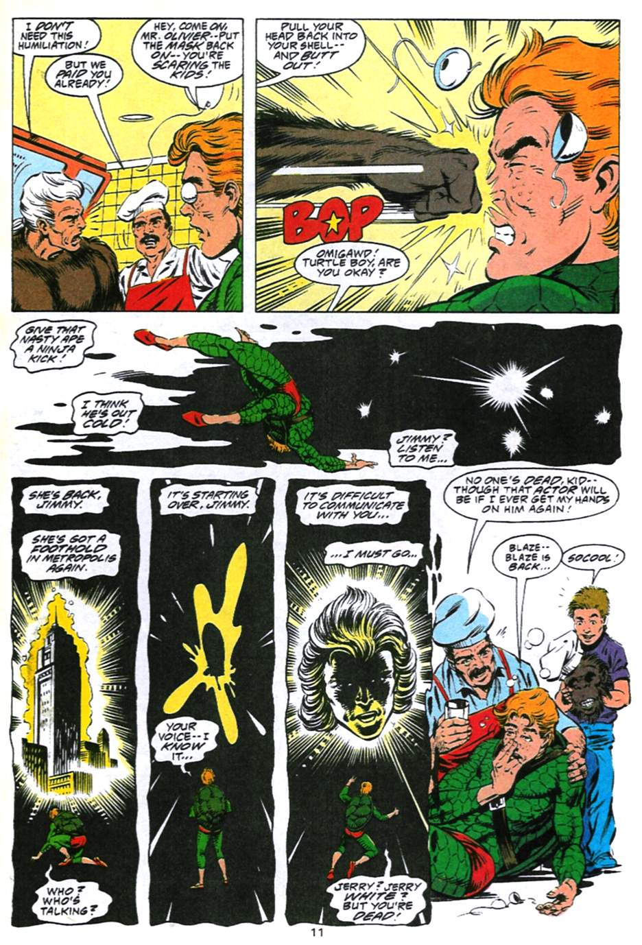 Read online Adventures of Superman (1987) comic -  Issue #493 - 12