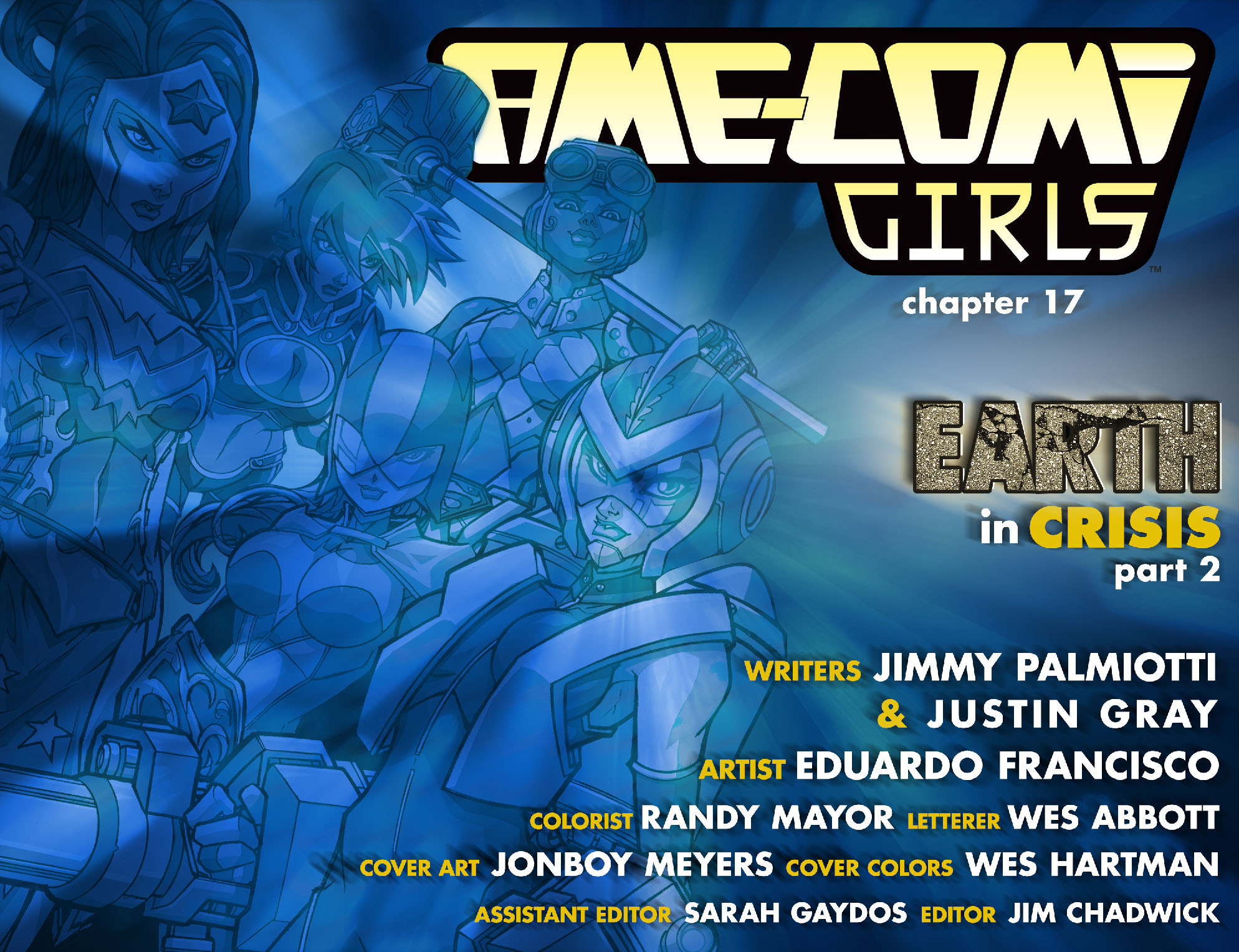 Read online Ame-Comi Girls comic -  Issue #17 - 2