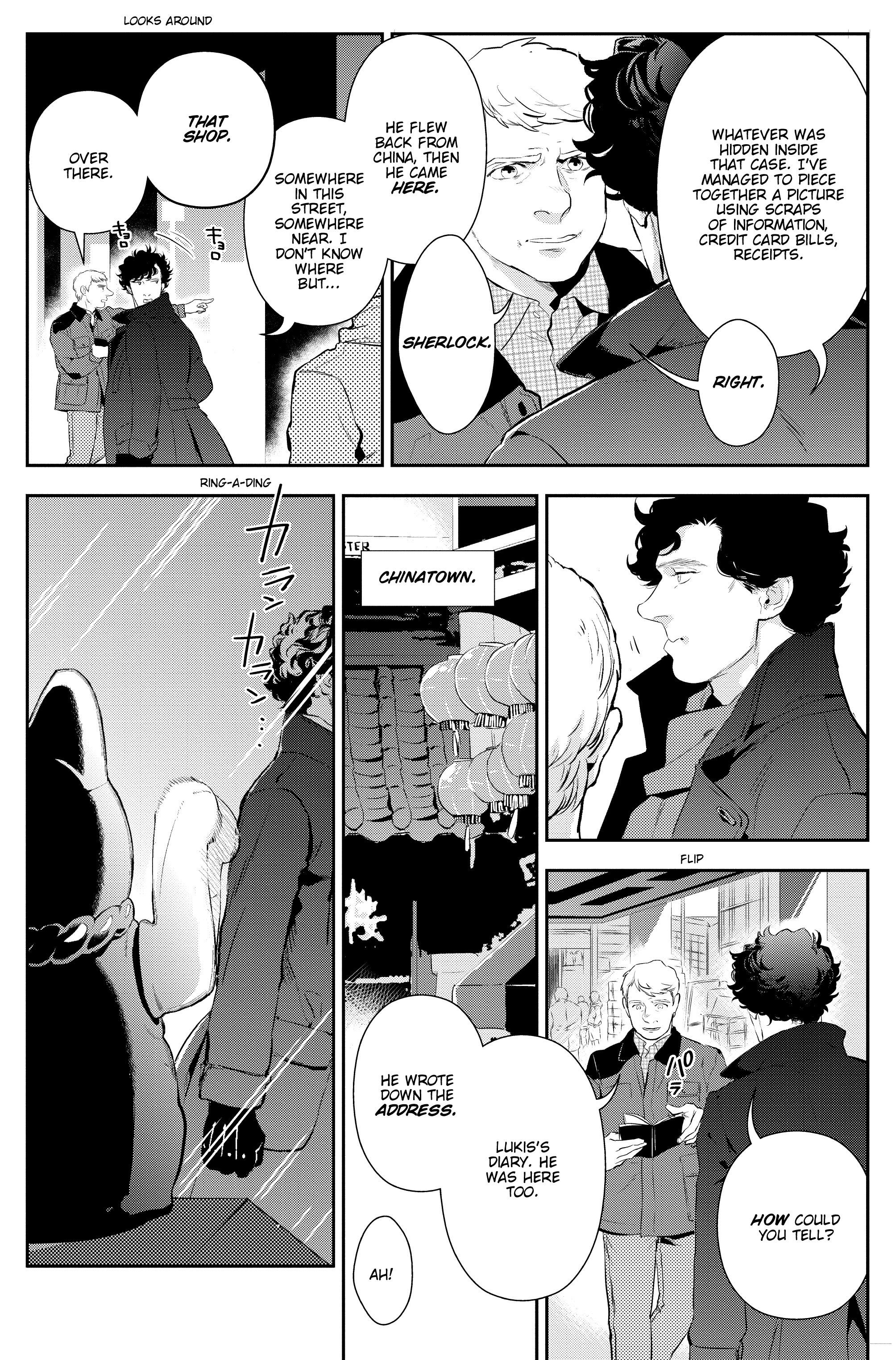 Read online Sherlock: The Blind Banker comic -  Issue #3 - 22
