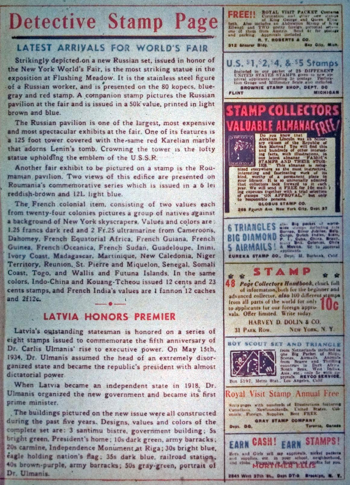 Read online Detective Comics (1937) comic -  Issue #31 - 13