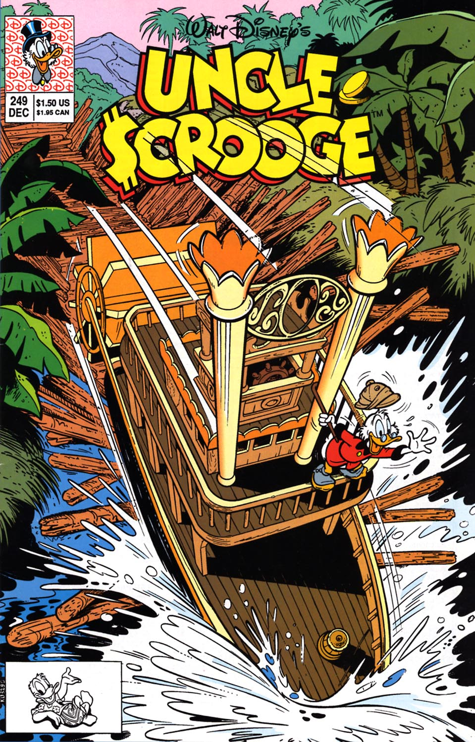 Read online Uncle Scrooge (1953) comic -  Issue #249 - 1