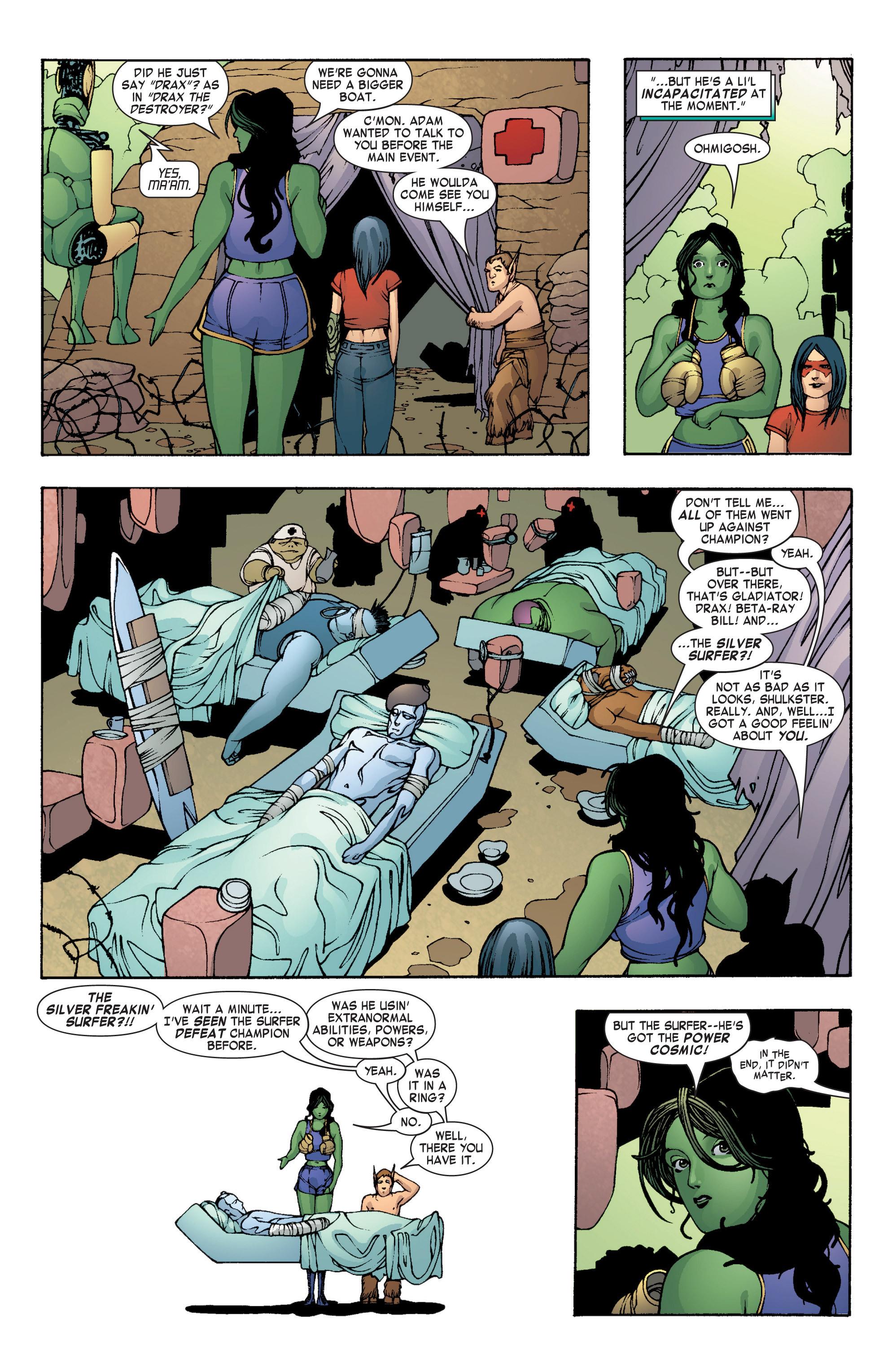 Read online She-Hulk (2004) comic -  Issue #8 - 7