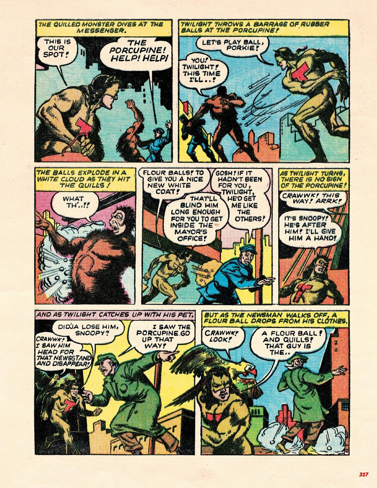 Read online Super Weird Heroes comic -  Issue # TPB 2 (Part 3) - 117