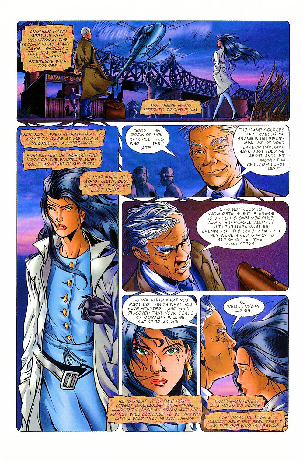 Read online Shi: The Way of the Warrior comic -  Issue #8 - 28