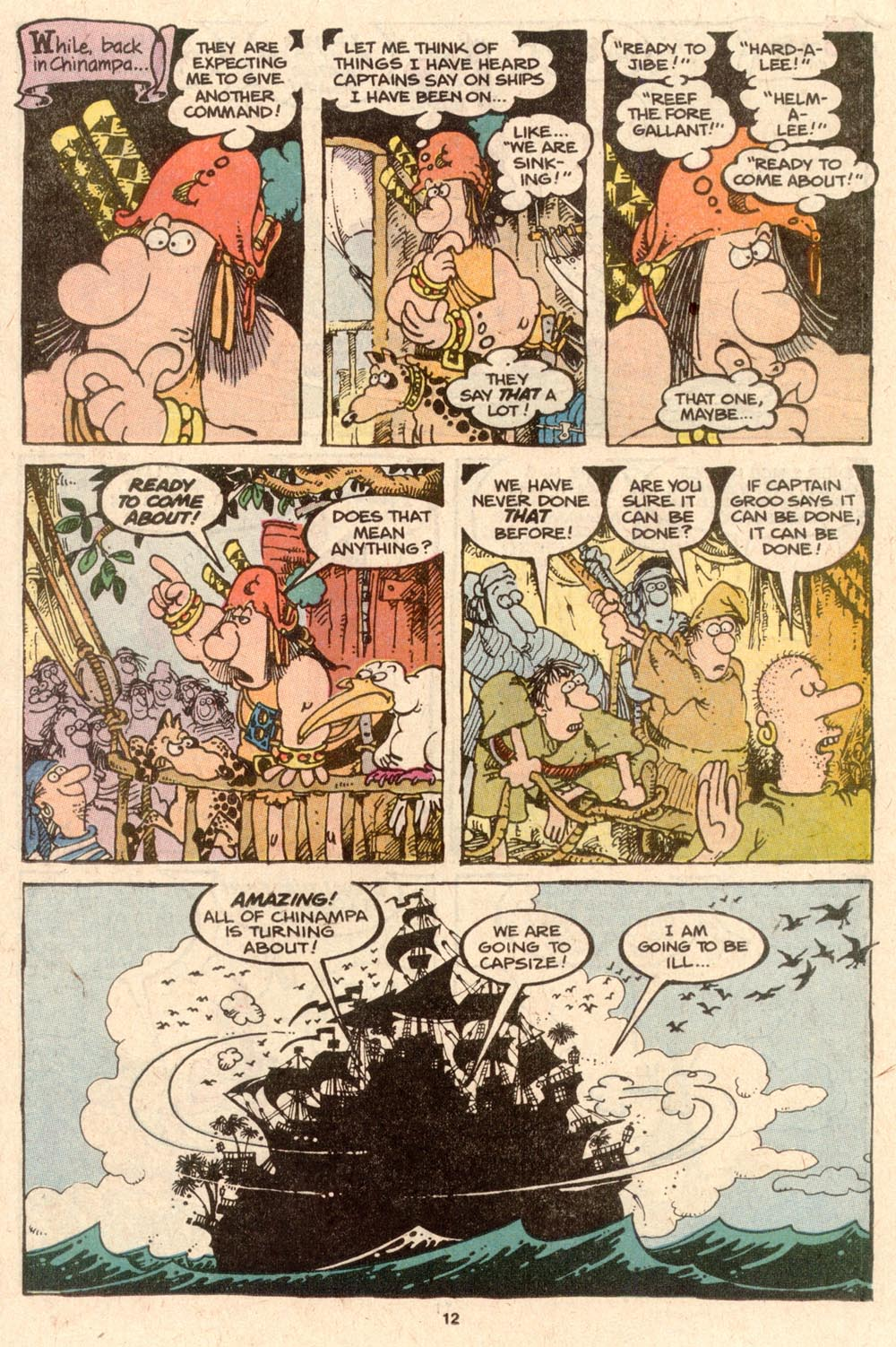Read online Sergio Aragonés Groo the Wanderer comic -  Issue #57 - 12
