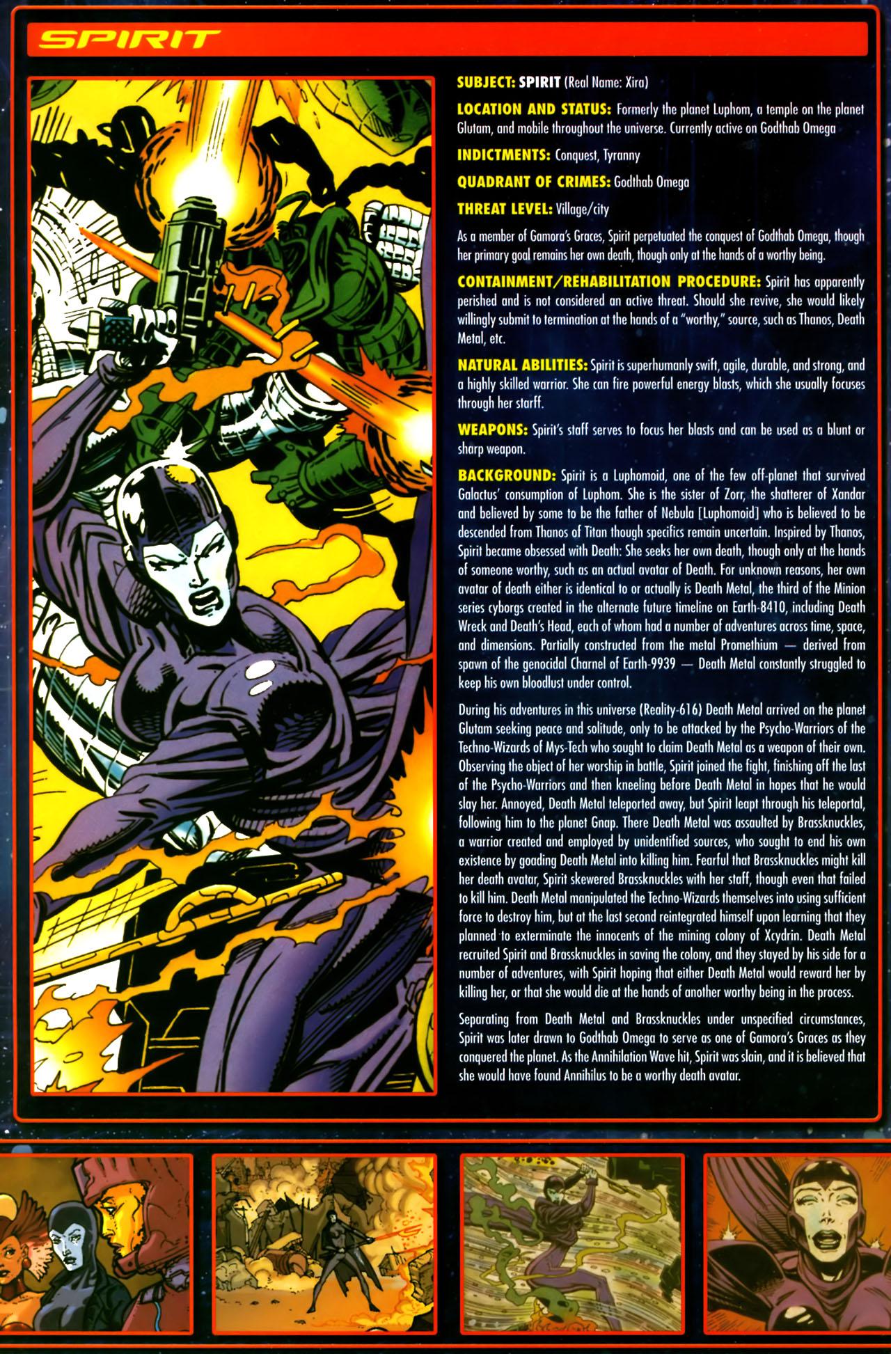 Read online Annihilation:  The  Nova Corps Files comic -  Issue #Annihilation:  The  Nova Corps Files Full - 37