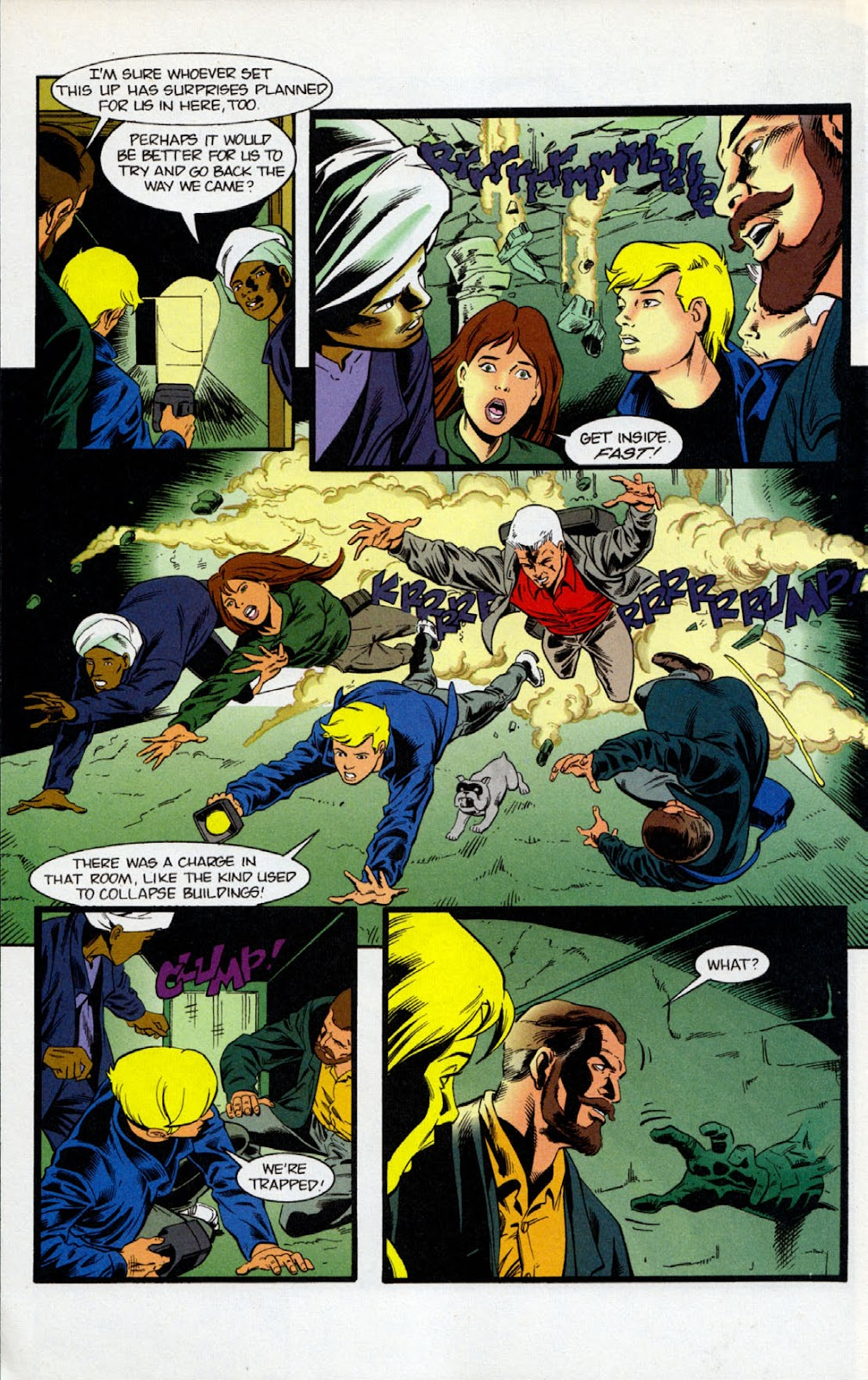 Read online The Real Adventures of Jonny Quest comic -  Issue #7 - 16