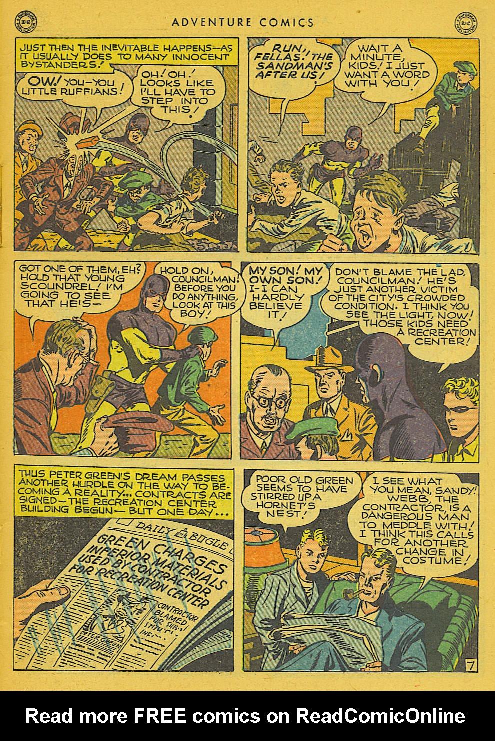 Read online Adventure Comics (1938) comic -  Issue #102 - 8