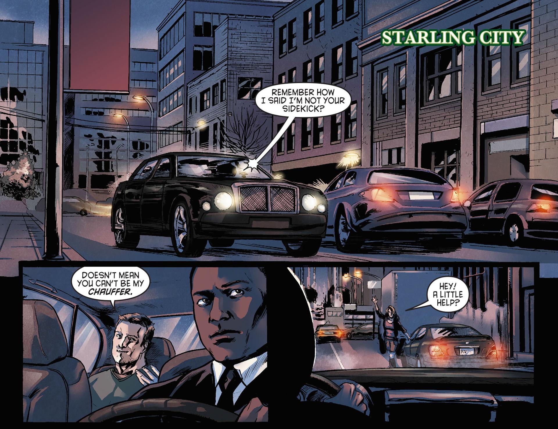 Read online Arrow [II] comic -  Issue #21 - 3