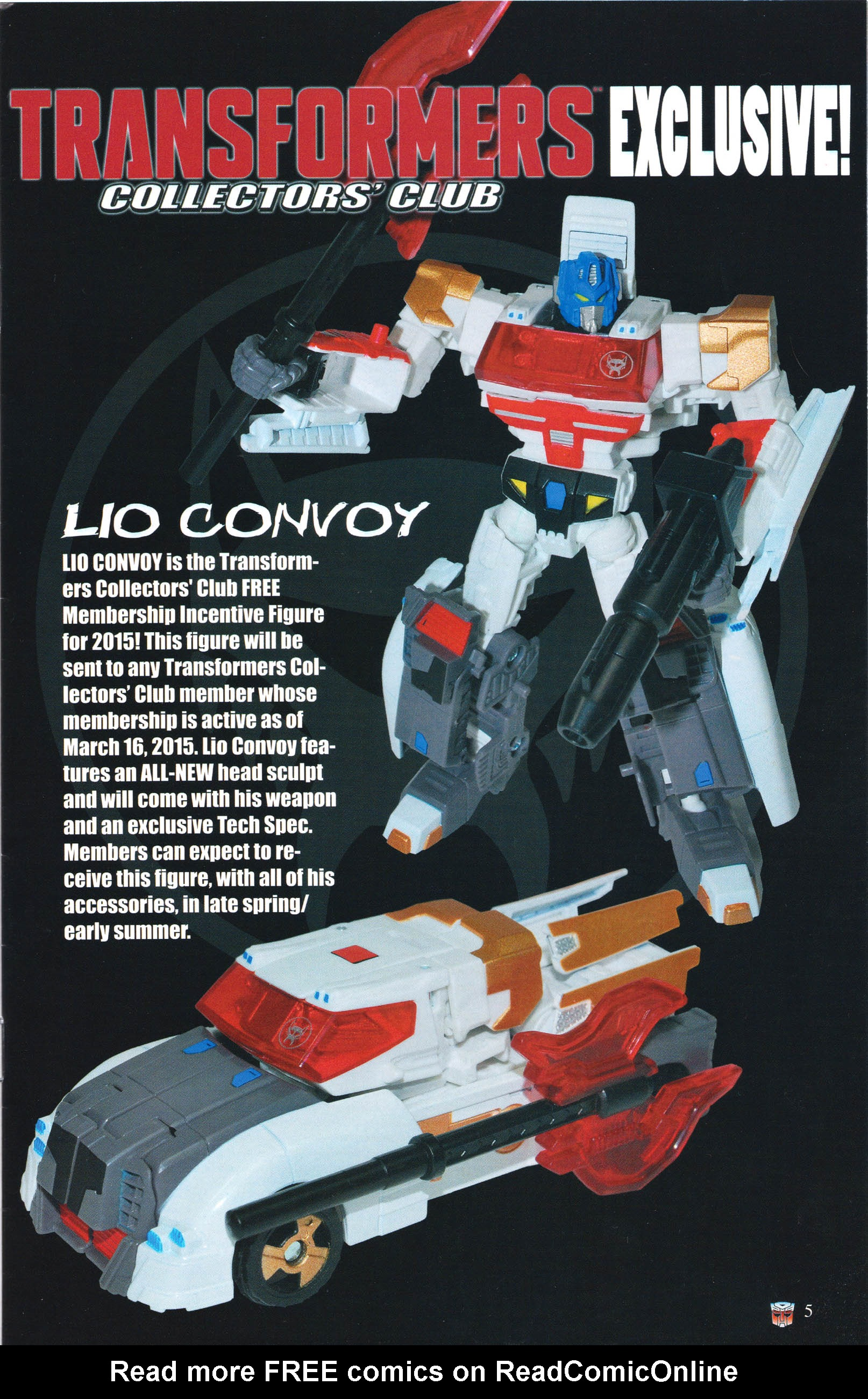 Read online Transformers: Collectors' Club comic -  Issue #61 - 5