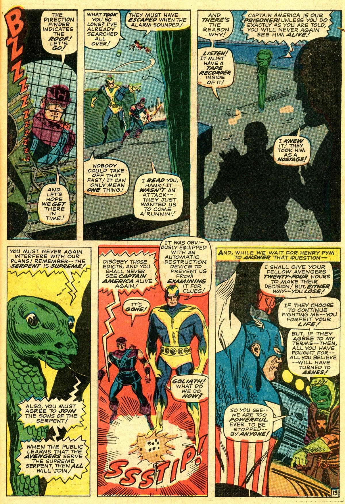 The Avengers (1963) 32 Page 19