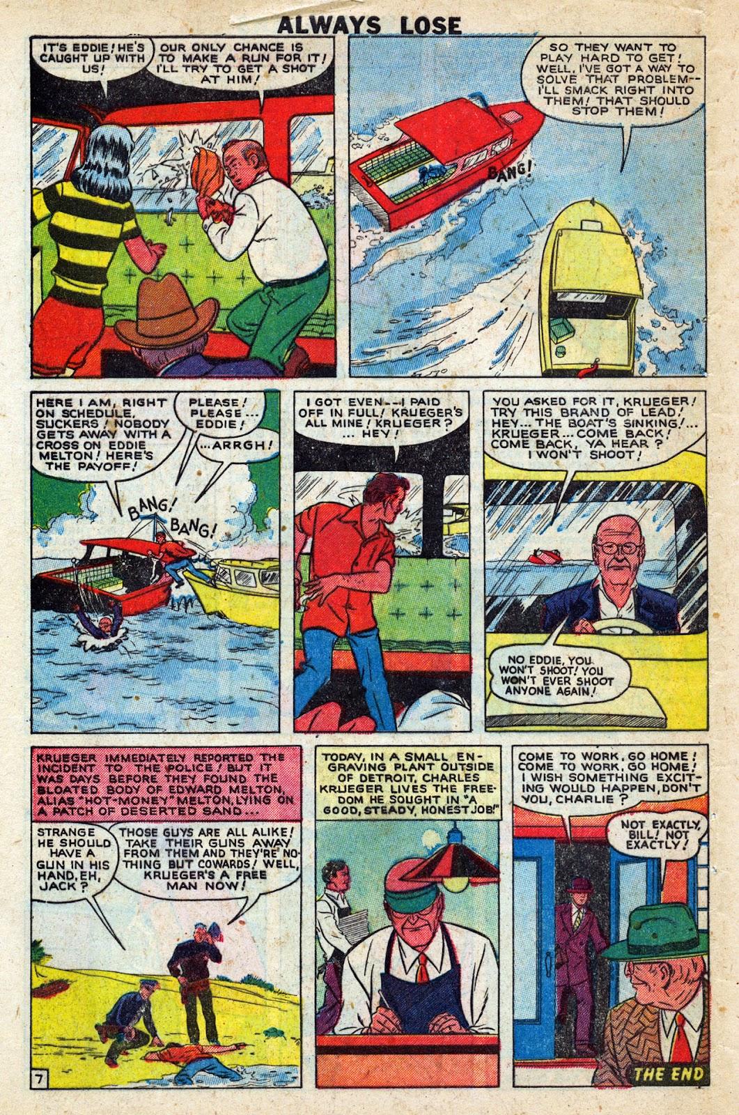 Lawbreakers Always Lose! issue 9 - Page 32