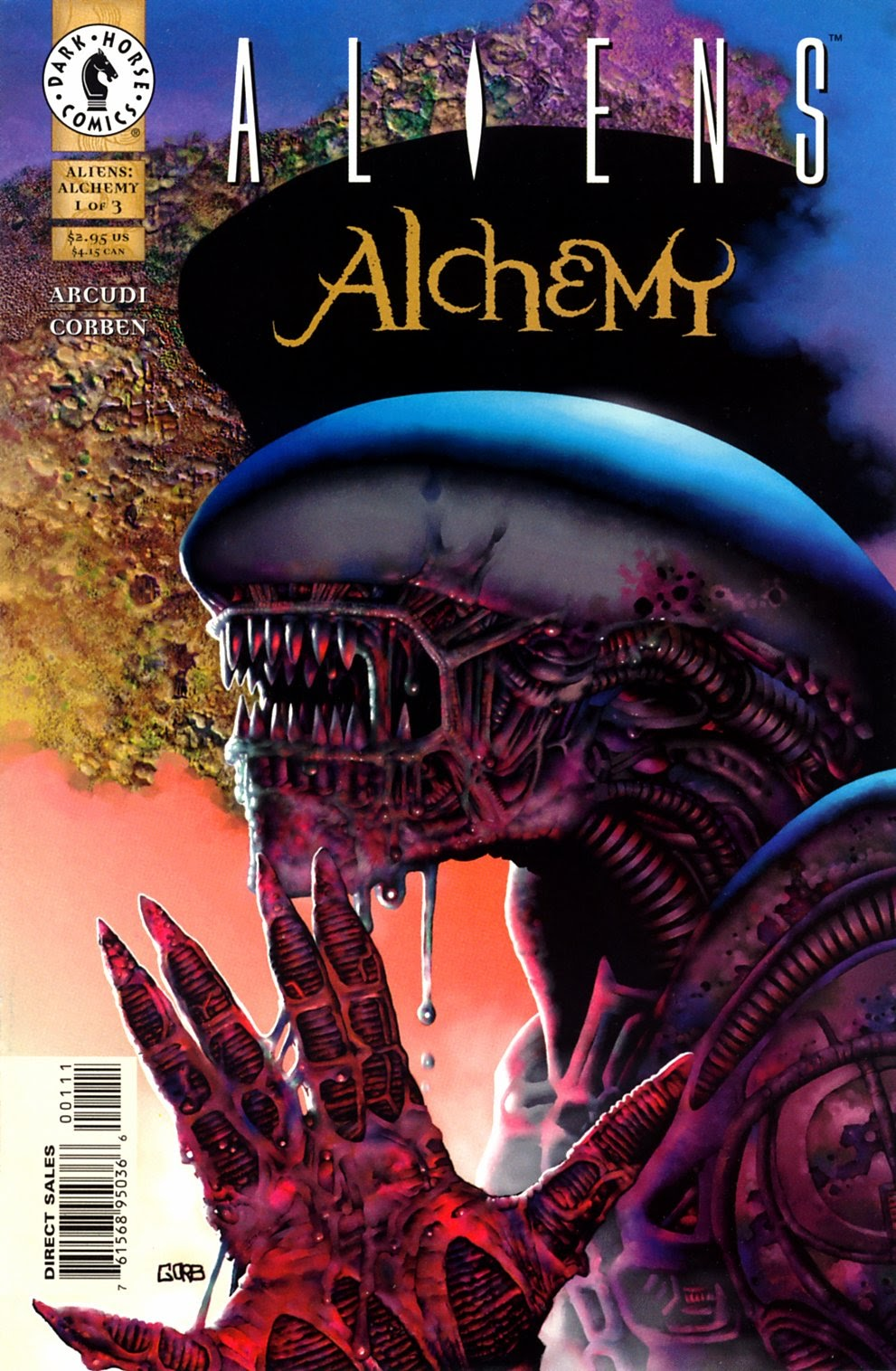 Aliens: Alchemy issue 1 - Page 1