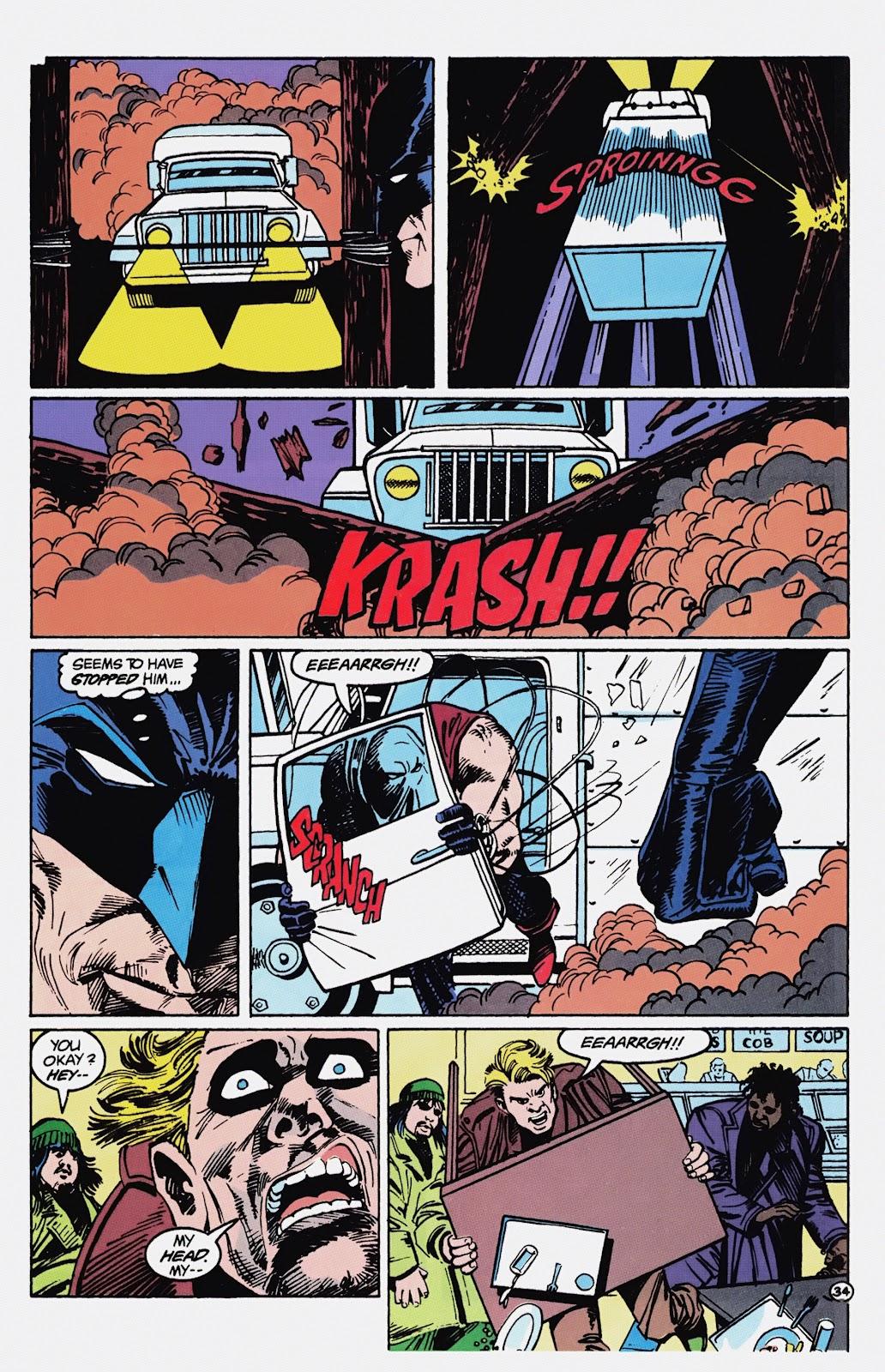 Read online Detective Comics (1937) comic -  Issue # _TPB Batman - Blind Justice (Part 1) - 39