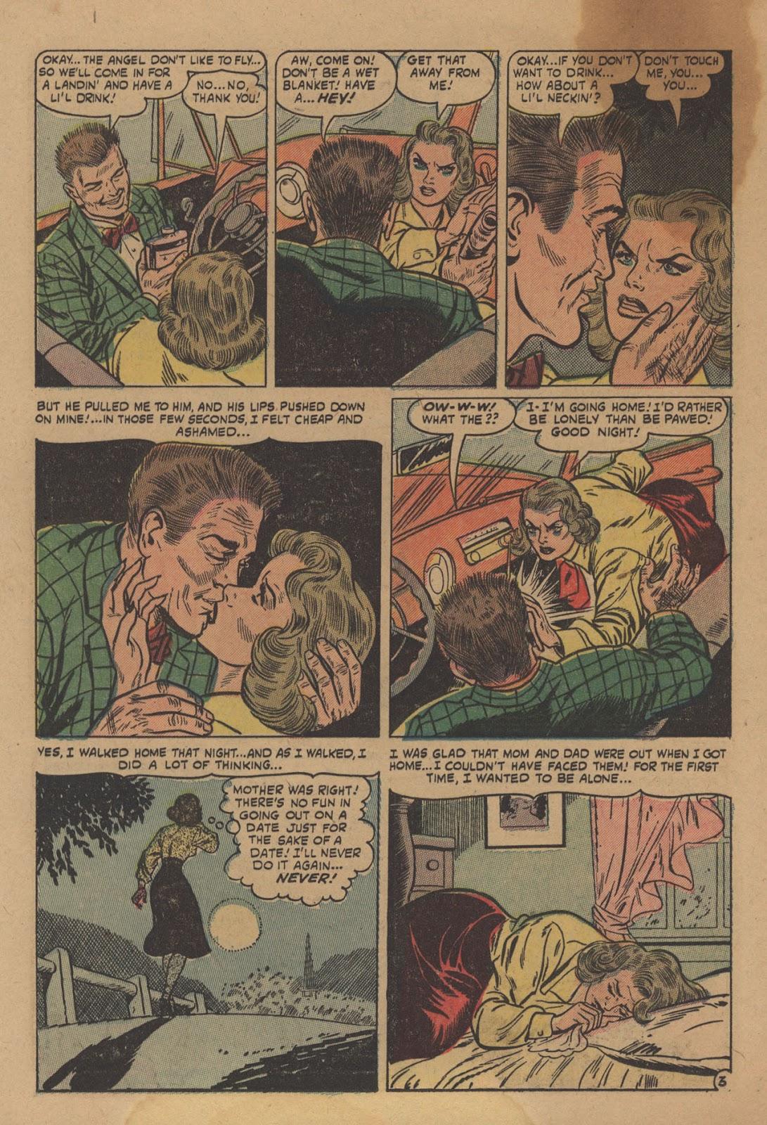 Love Romances (1949) issue 28 - Page 24