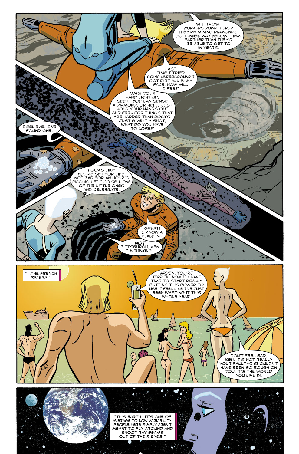 Read online Untold Tales Of The New Universe: Star Brand comic -  Issue # Full - 20