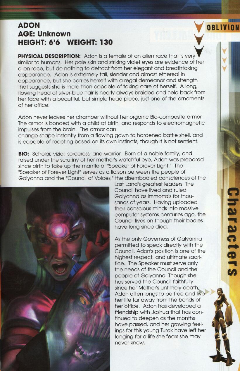Read online Turok 3: Shadow of Oblivion comic -  Issue # Full - 44