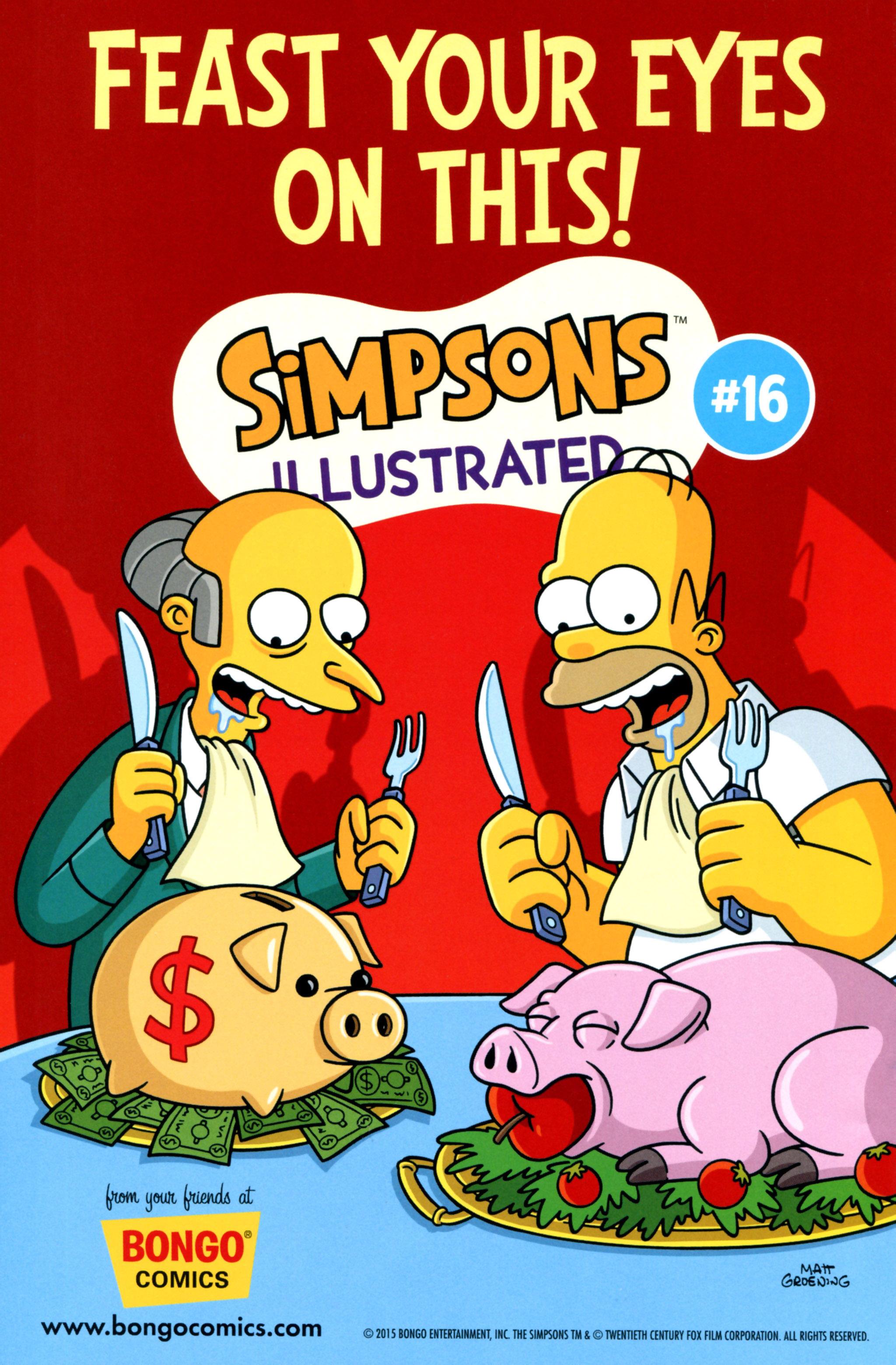 Read online Simpsons Comics comic -  Issue #218 - 30