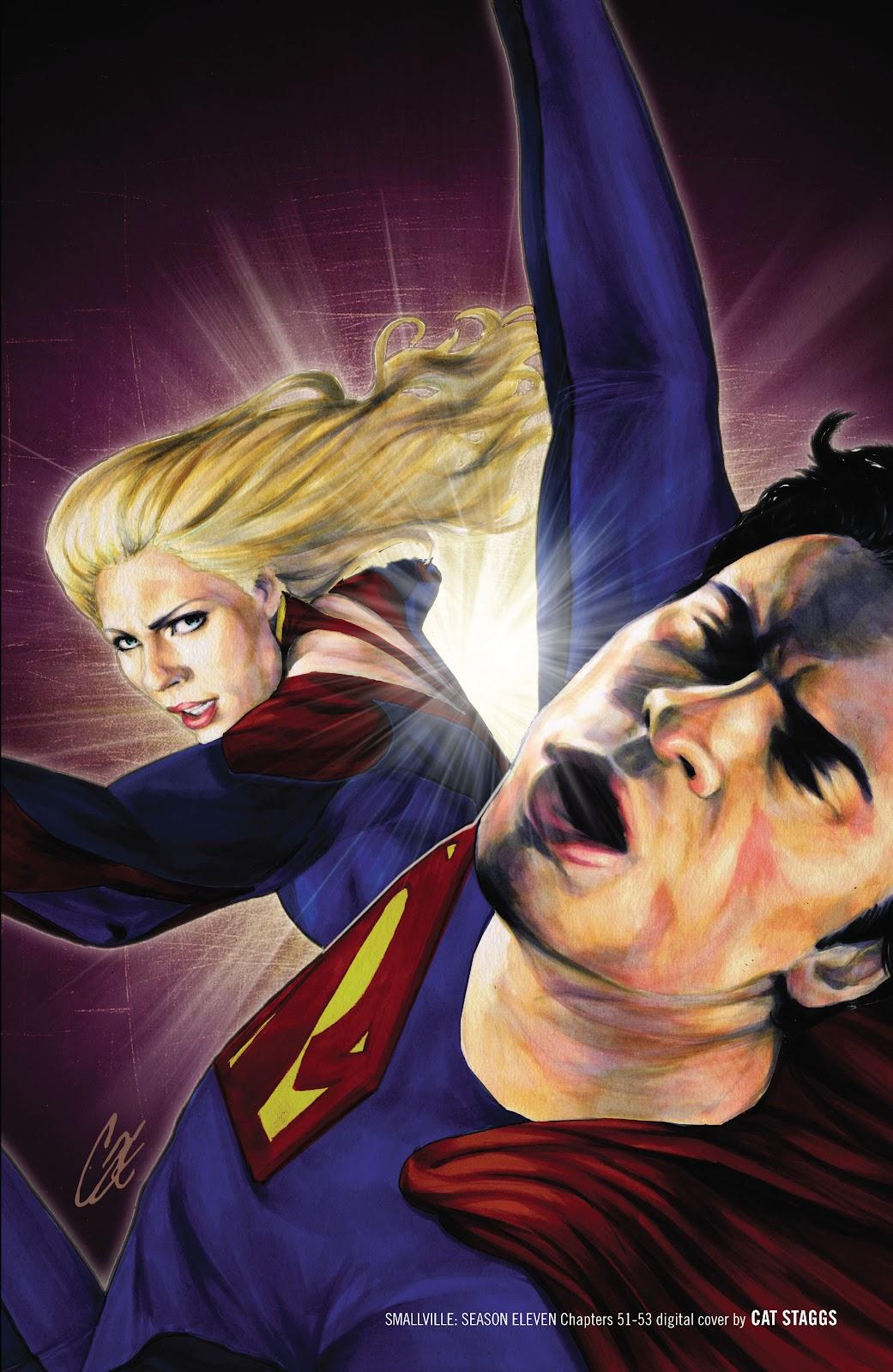 Read online Smallville Season 11 [II] comic -  Issue # TPB 4 - 145