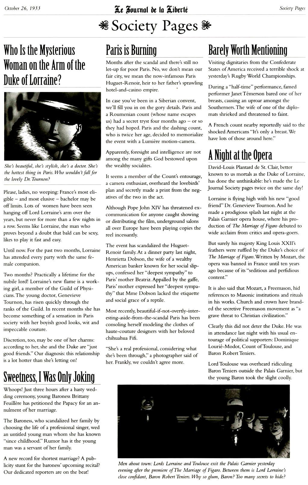 Read online Rex Mundi comic -  Issue #9 - 26