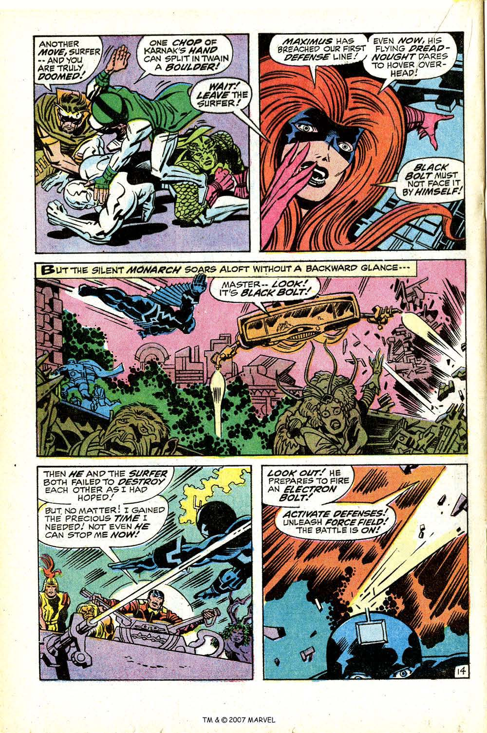 Silver Surfer (1968) issue 18 - Page 20