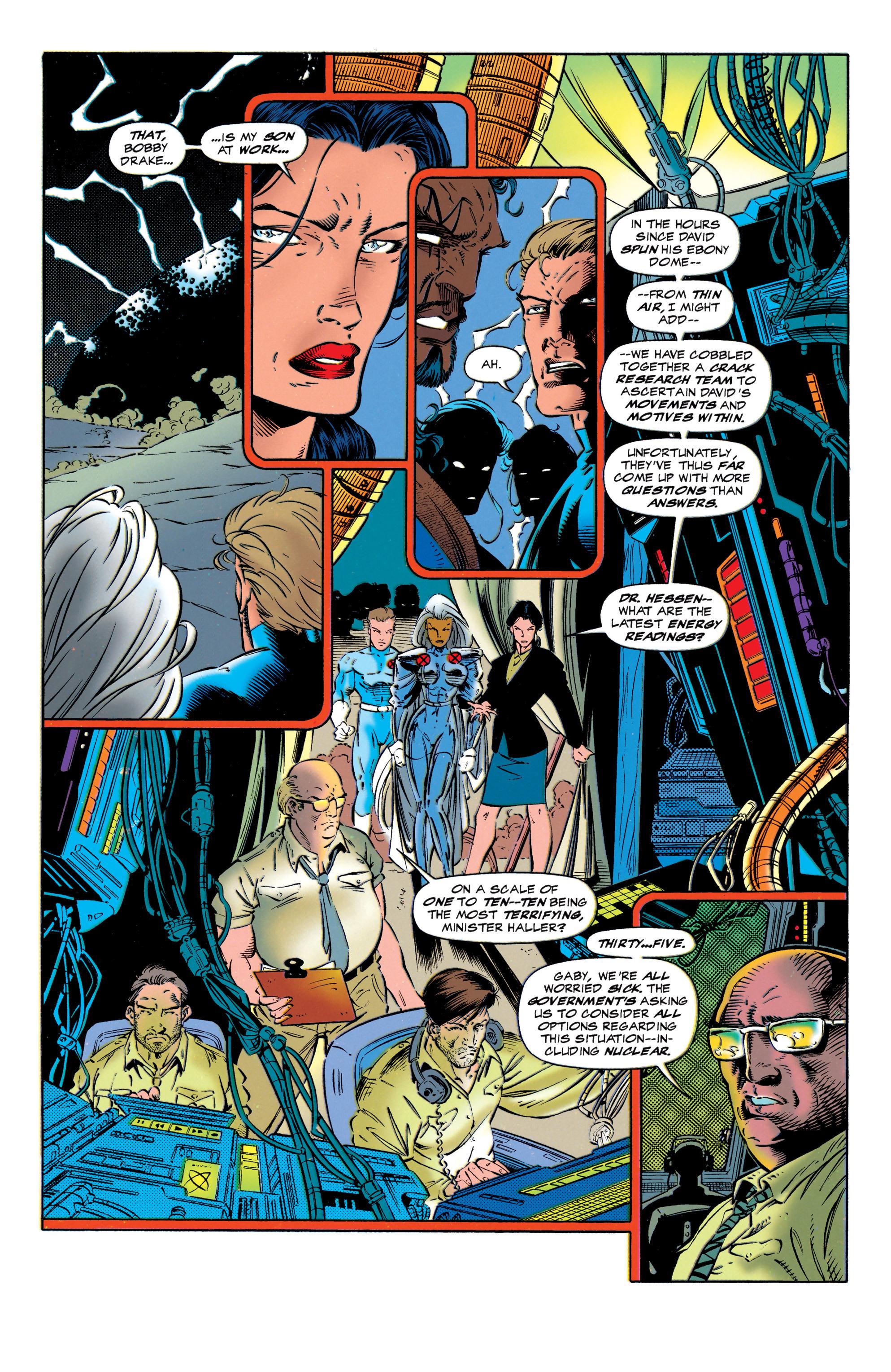 Read online Uncanny X-Men (1963) comic -  Issue #320 - 7