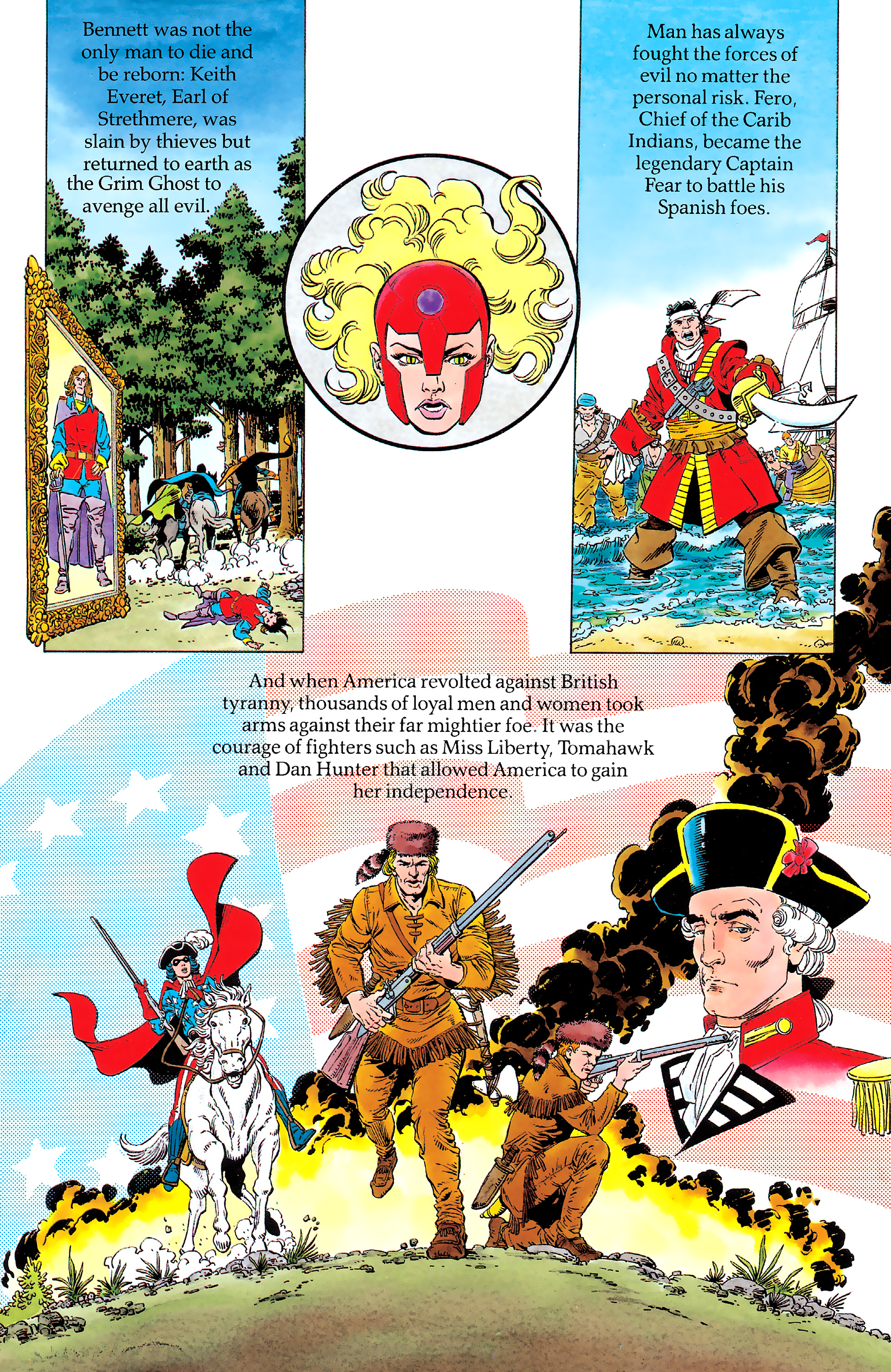 Read online History of the DC Universe comic -  Issue #1 - 25