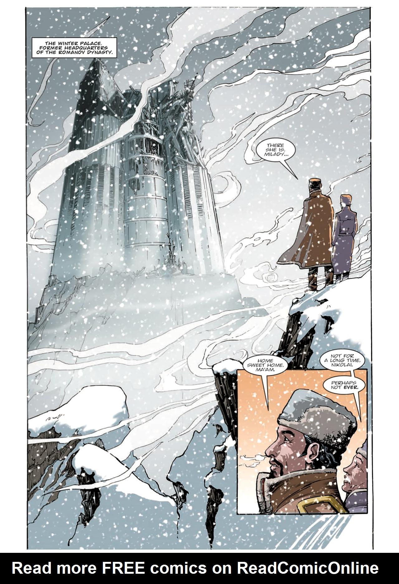 Read online Nikolai Dante comic -  Issue # TPB 9 - 146