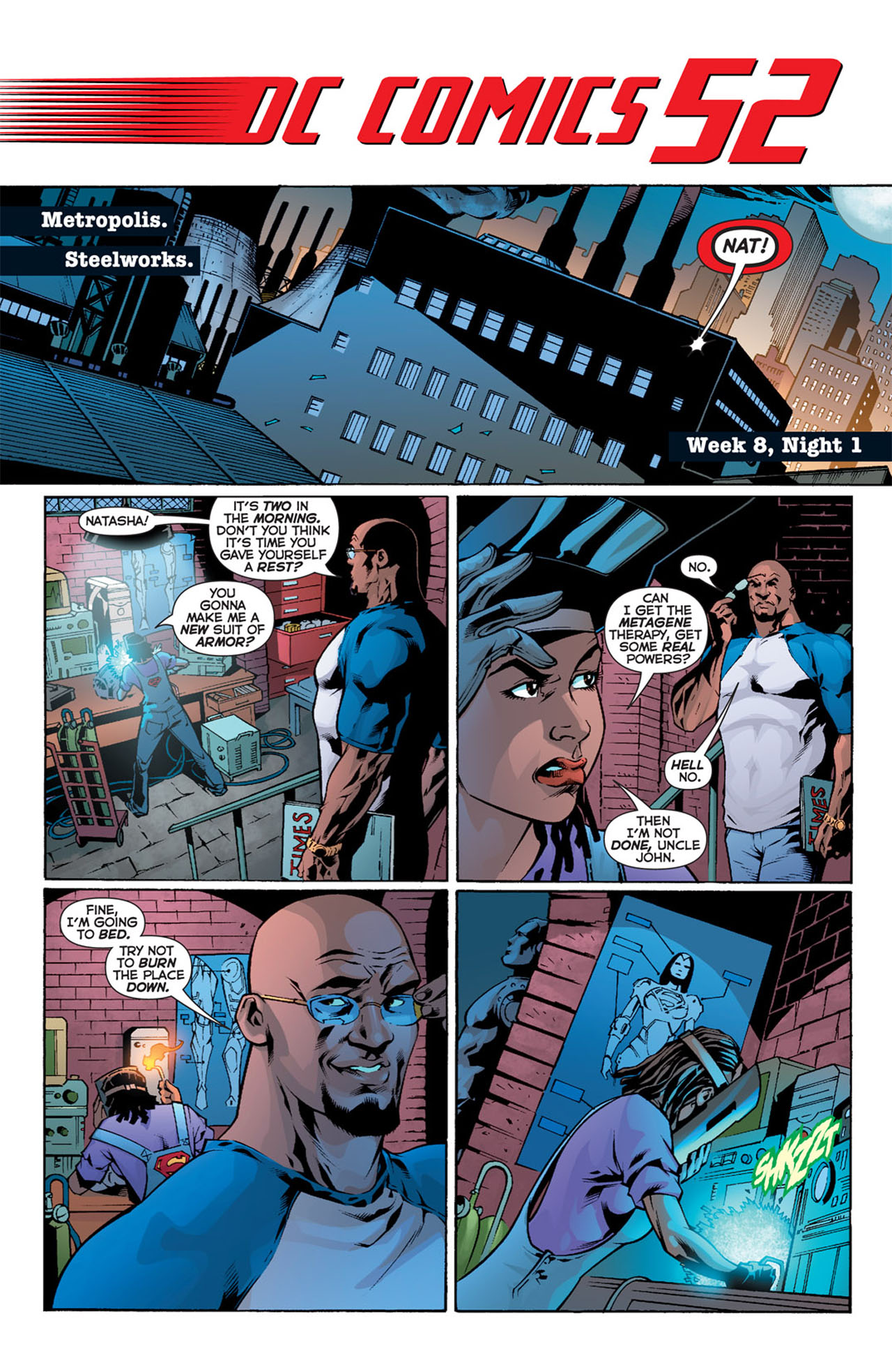 Read online 52 comic -  Issue #8 - 3