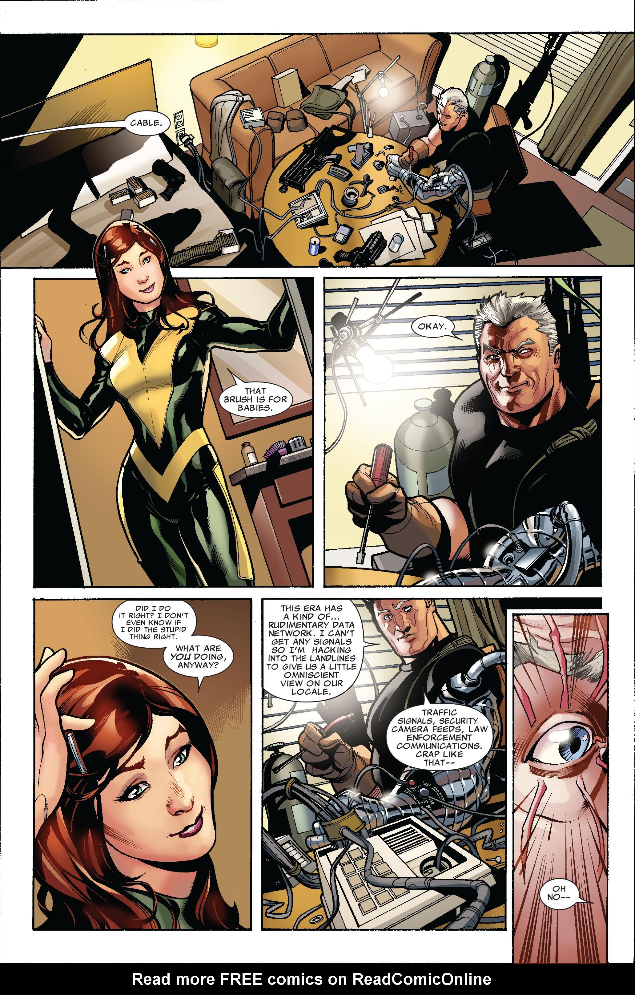 Read online Uncanny X-Men (1963) comic -  Issue #523 - 17