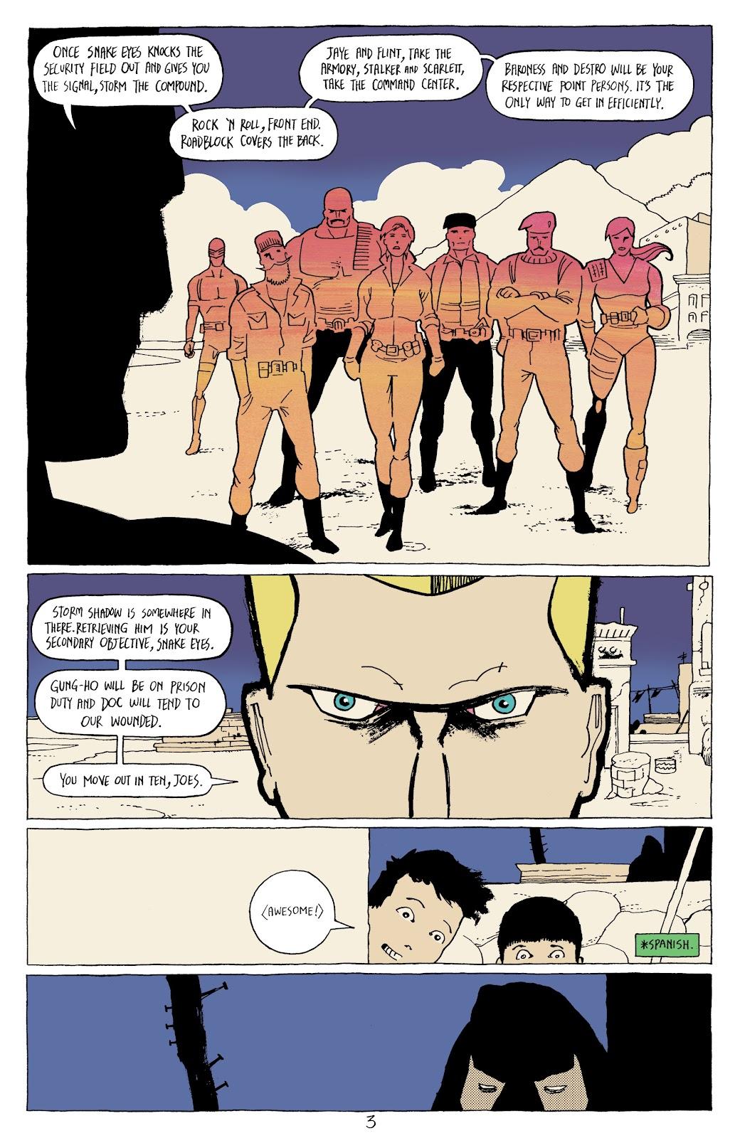 Read online G.I. Joe: Sierra Muerte comic -  Issue #3 - 5