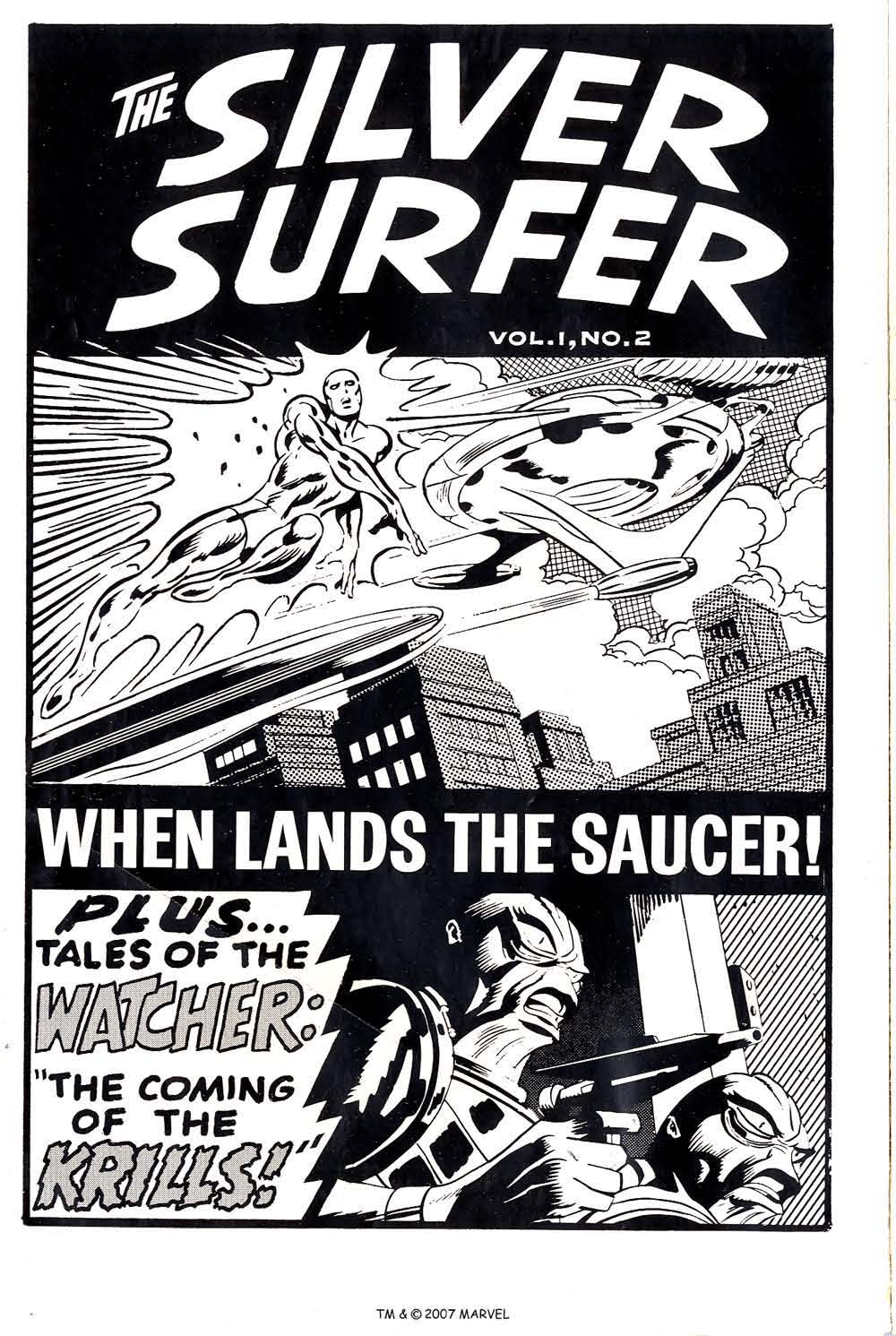 Silver Surfer (1968) Issue #2 #2 - English 2